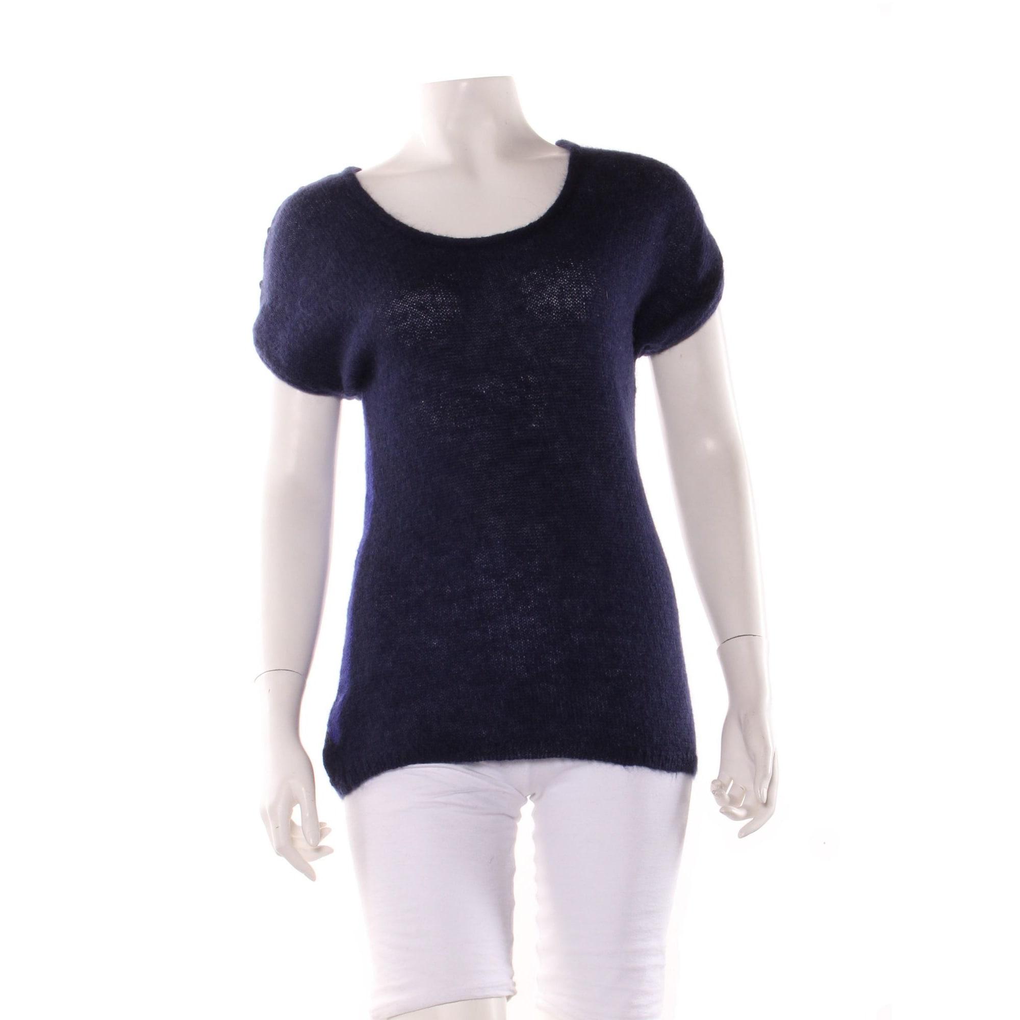 Top, tee-shirt DES PETITS HAUTS Bleu, bleu marine, bleu turquoise