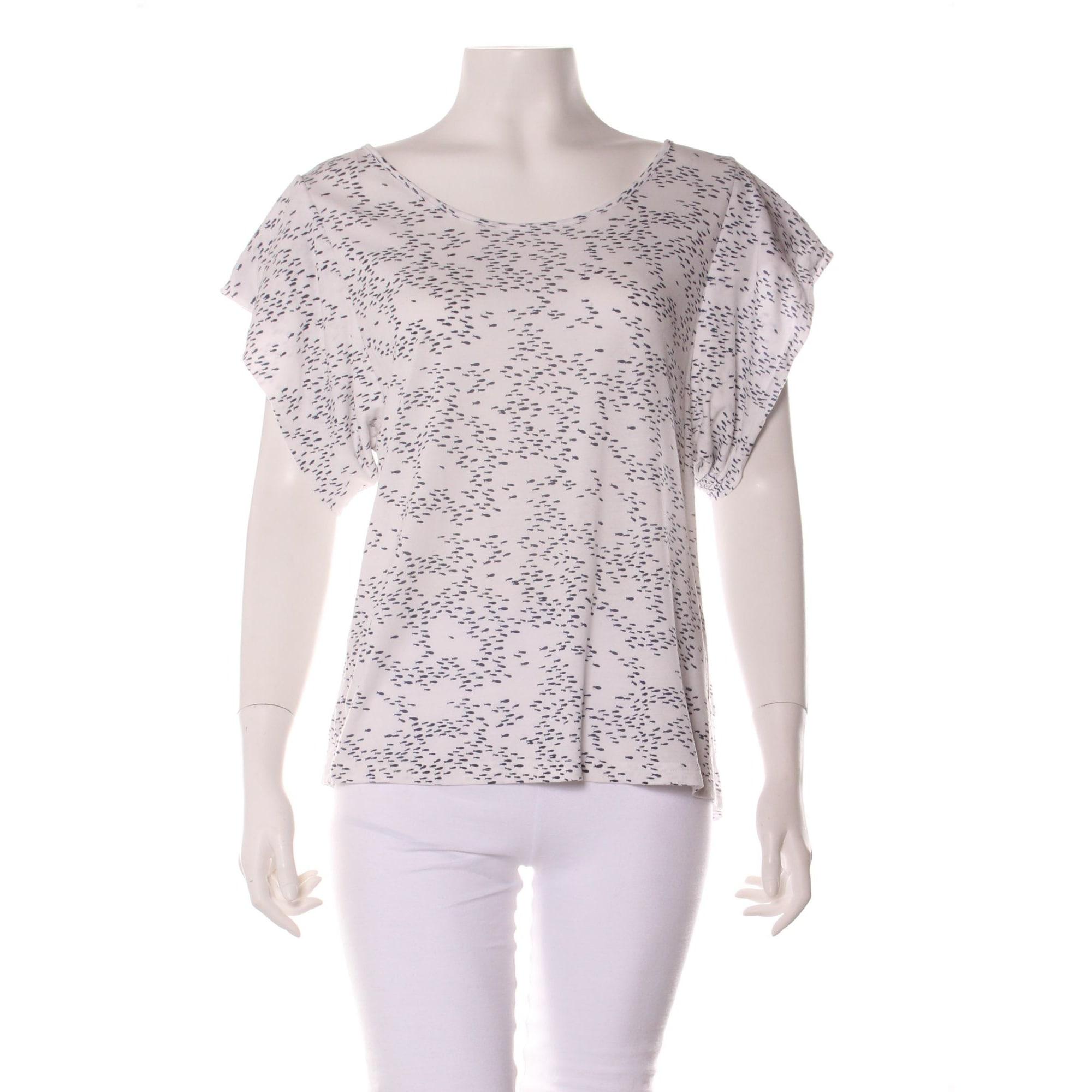 Top, tee-shirt BEL AIR Blanc, blanc cassé, écru