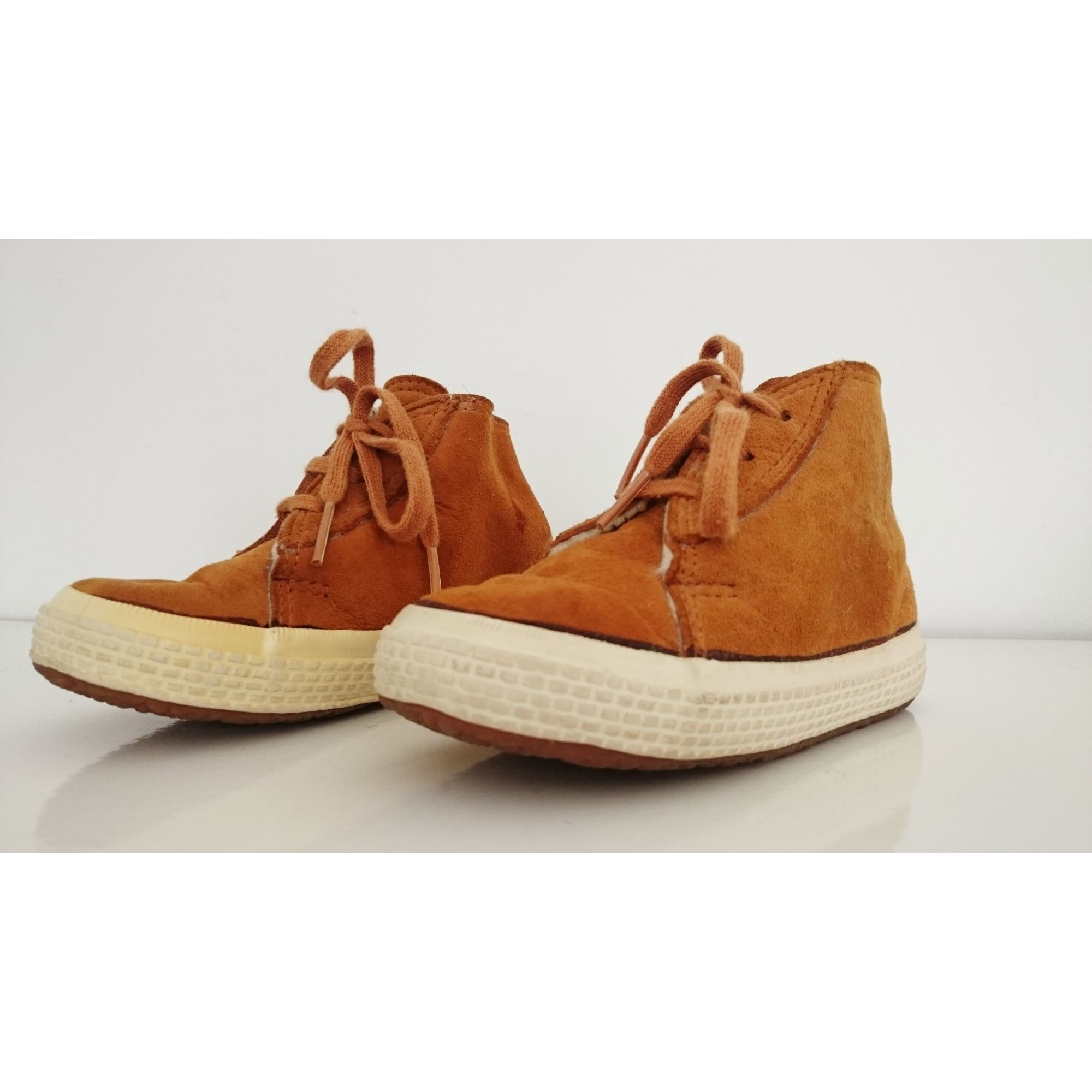 Bottines SUPERGA Orange