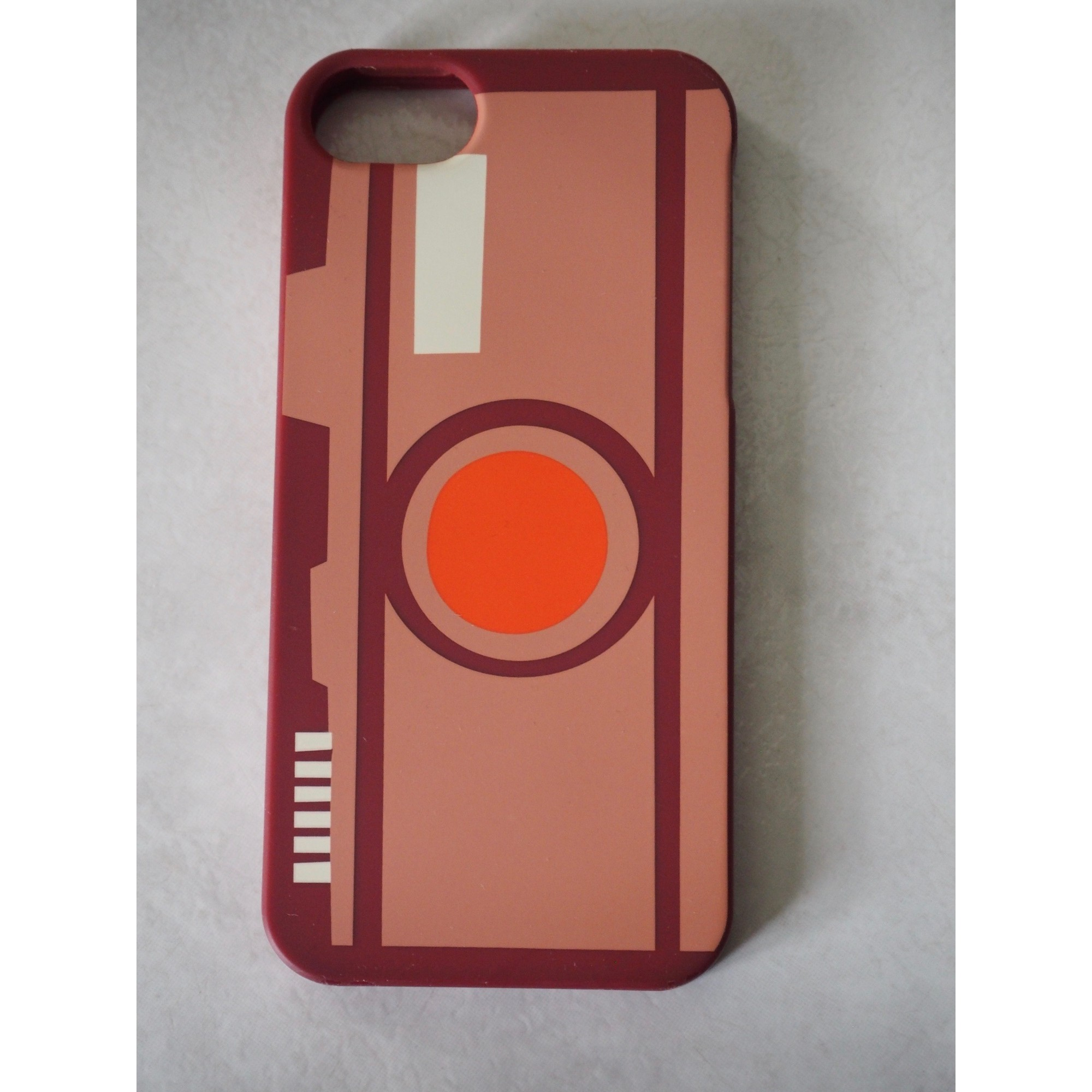 Etui iPhone  FOSSIL Rouge, bordeaux