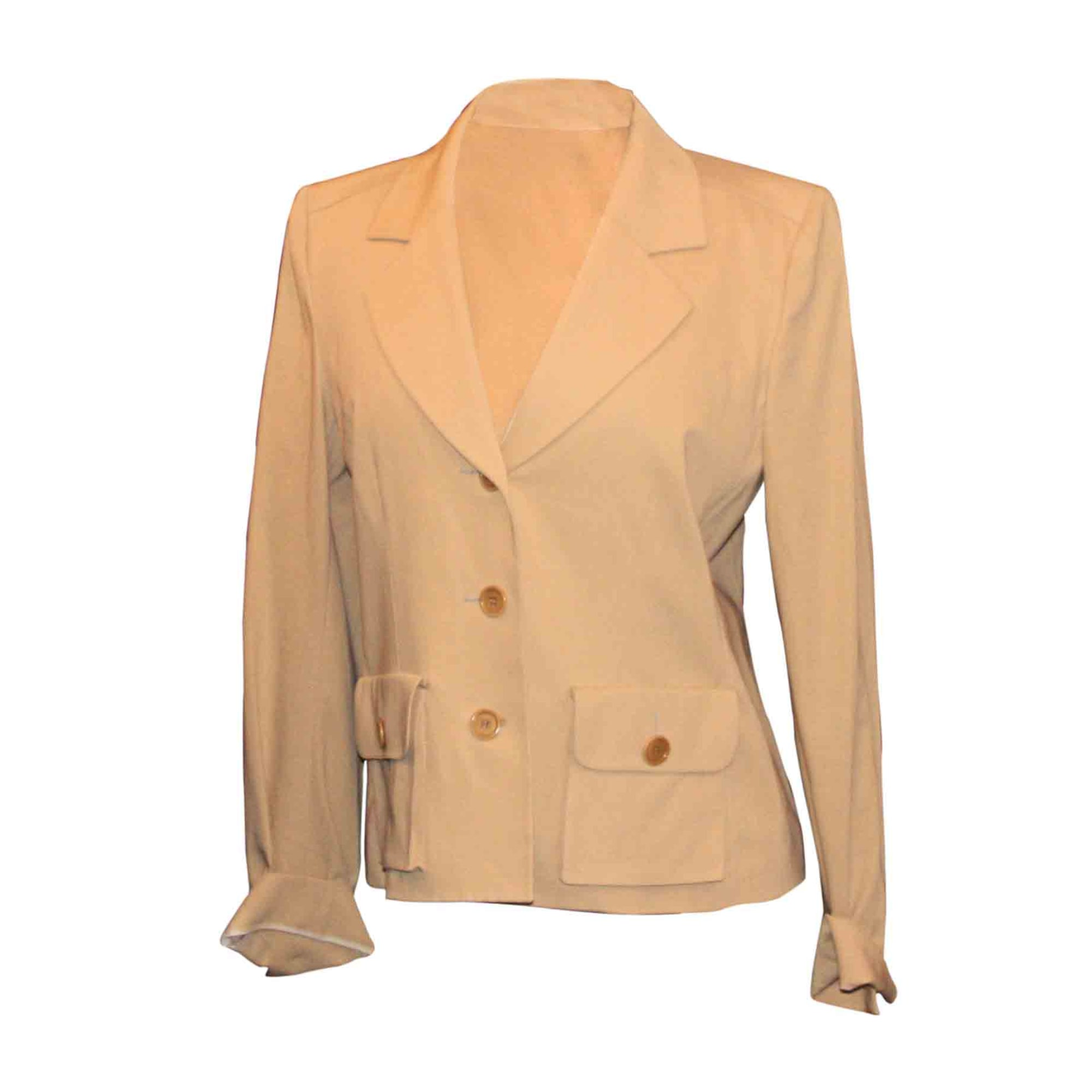 Blazer, veste tailleur SONIA RYKIEL Beige, camel