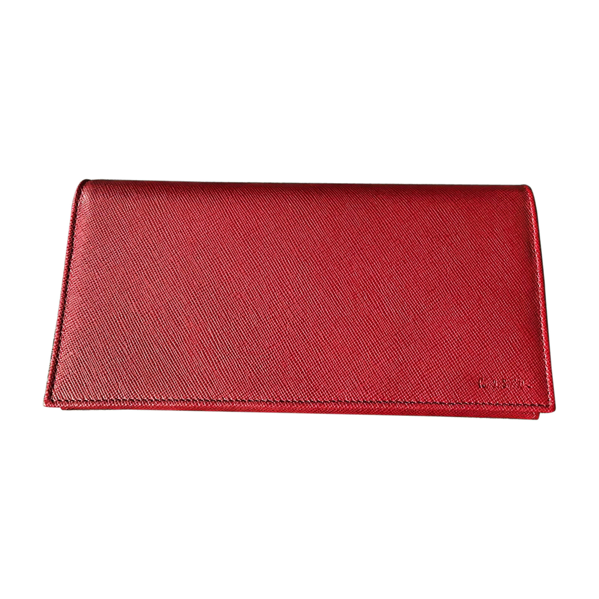 Portefeuille PAUL SMITH Rouge, bordeaux
