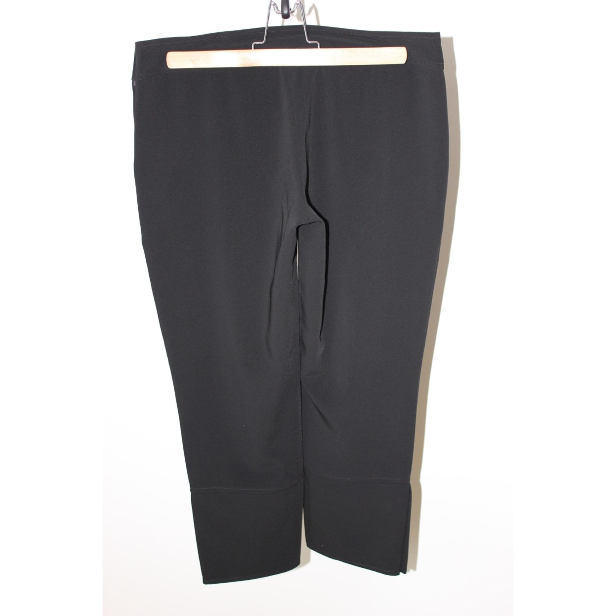 Pantalon carotte BILLTORNADE Noir