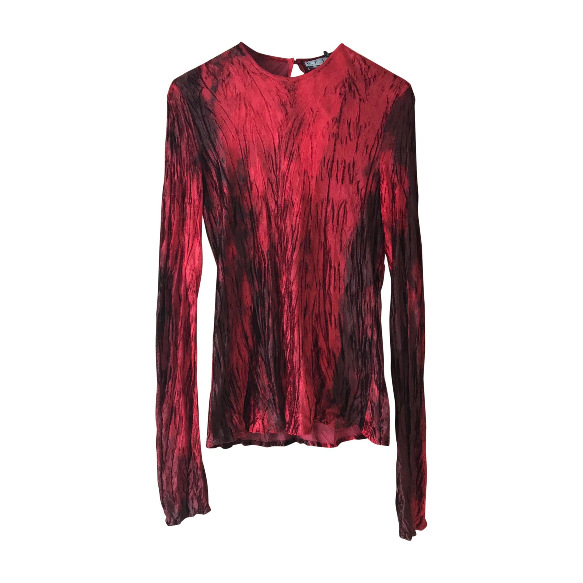 Top, tee-shirt GIANFRANCO FERRE Rouge, bordeaux