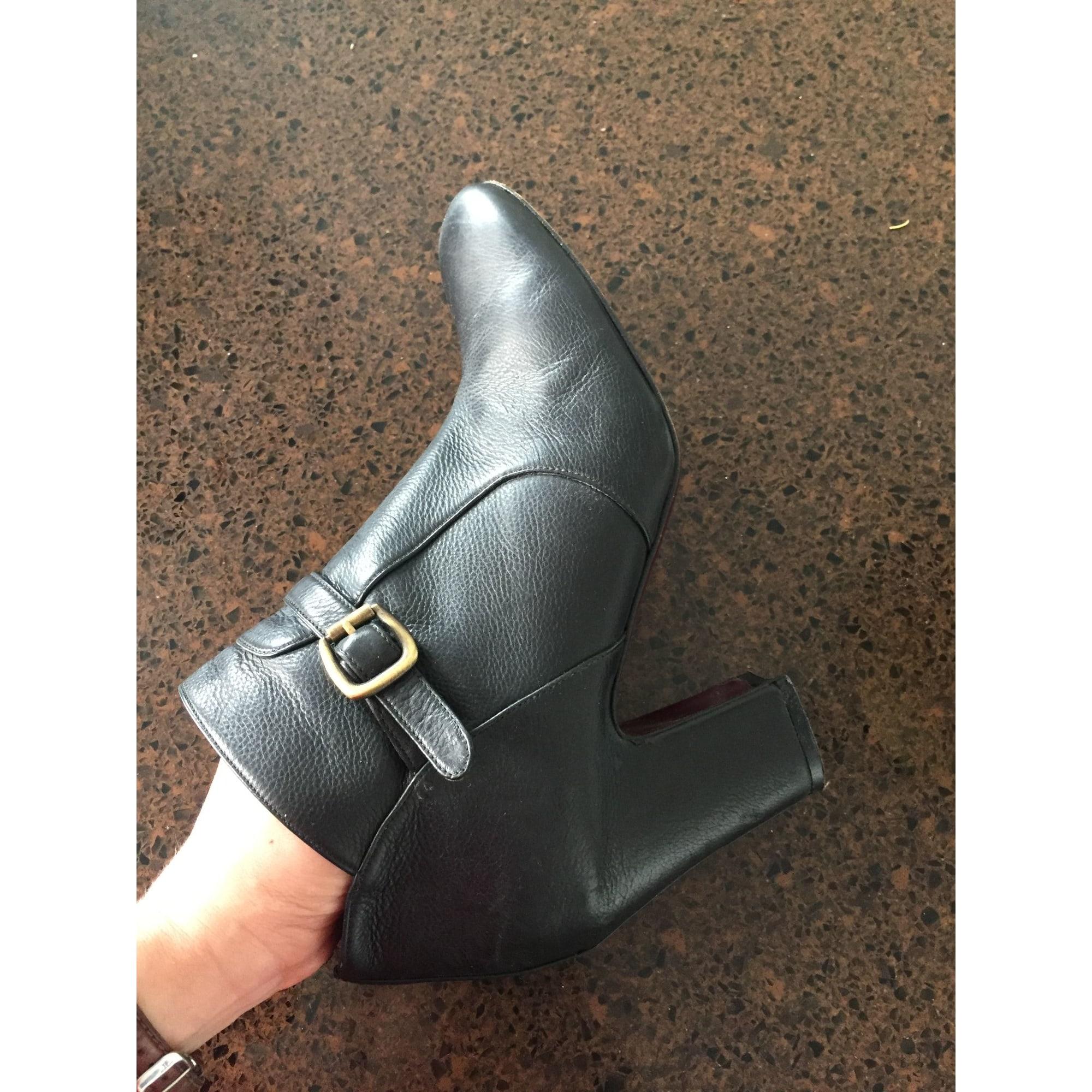 Bottines & low boots à talons ACCESSOIRE DIFFUSION Noir