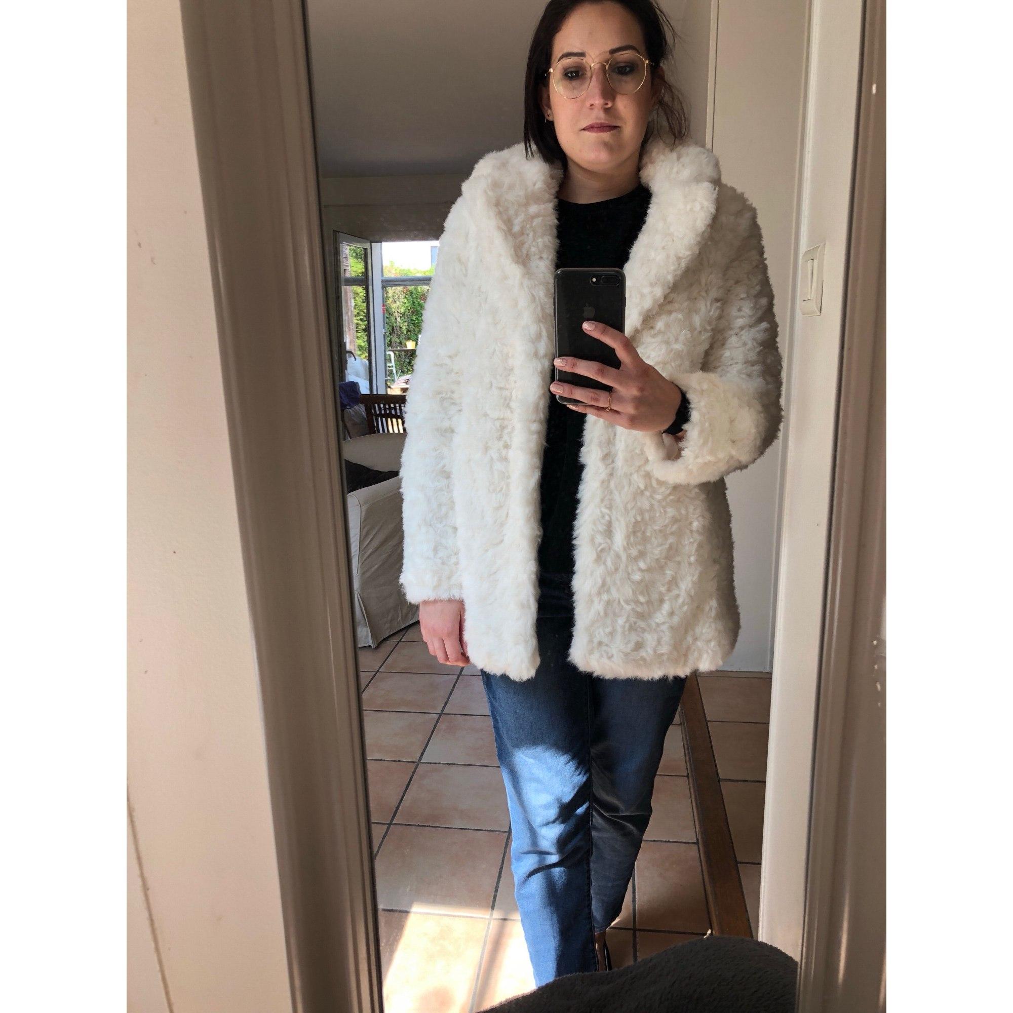 claudie pierlot manteau fourrure