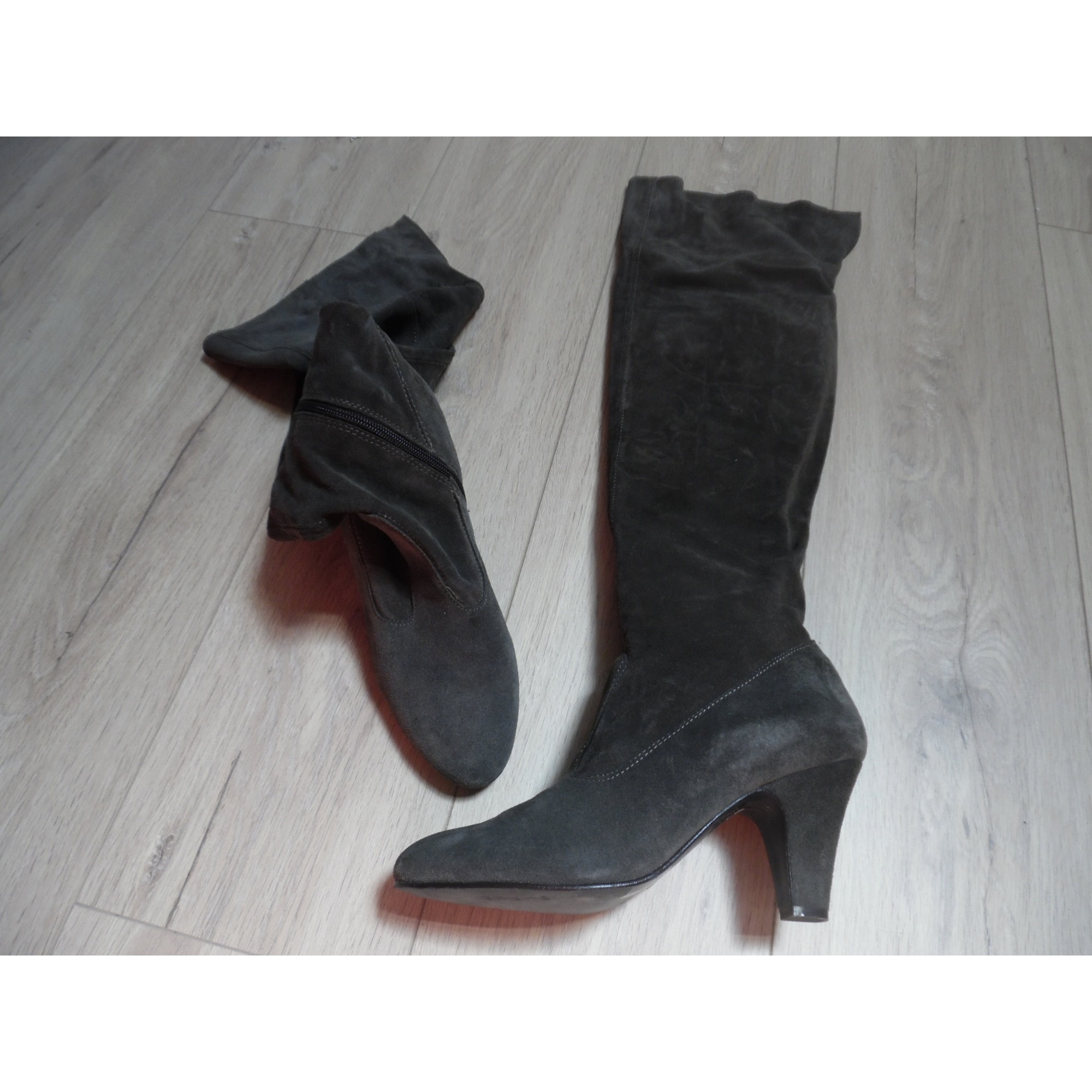 Bottes cuissards ANDRÉ Gris, anthracite