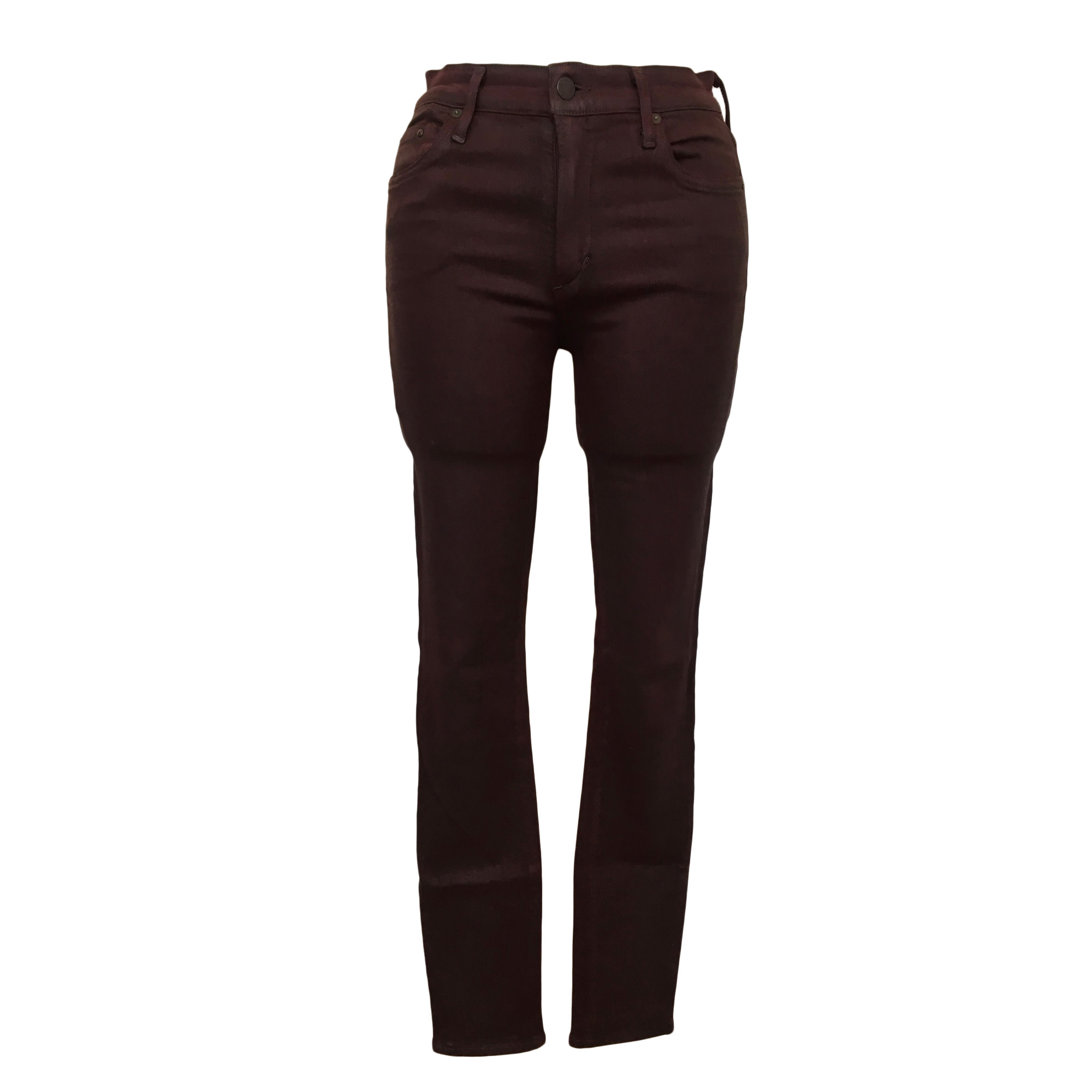 Jeans slim CITIZENS OF HUMANITY Rouge, bordeaux