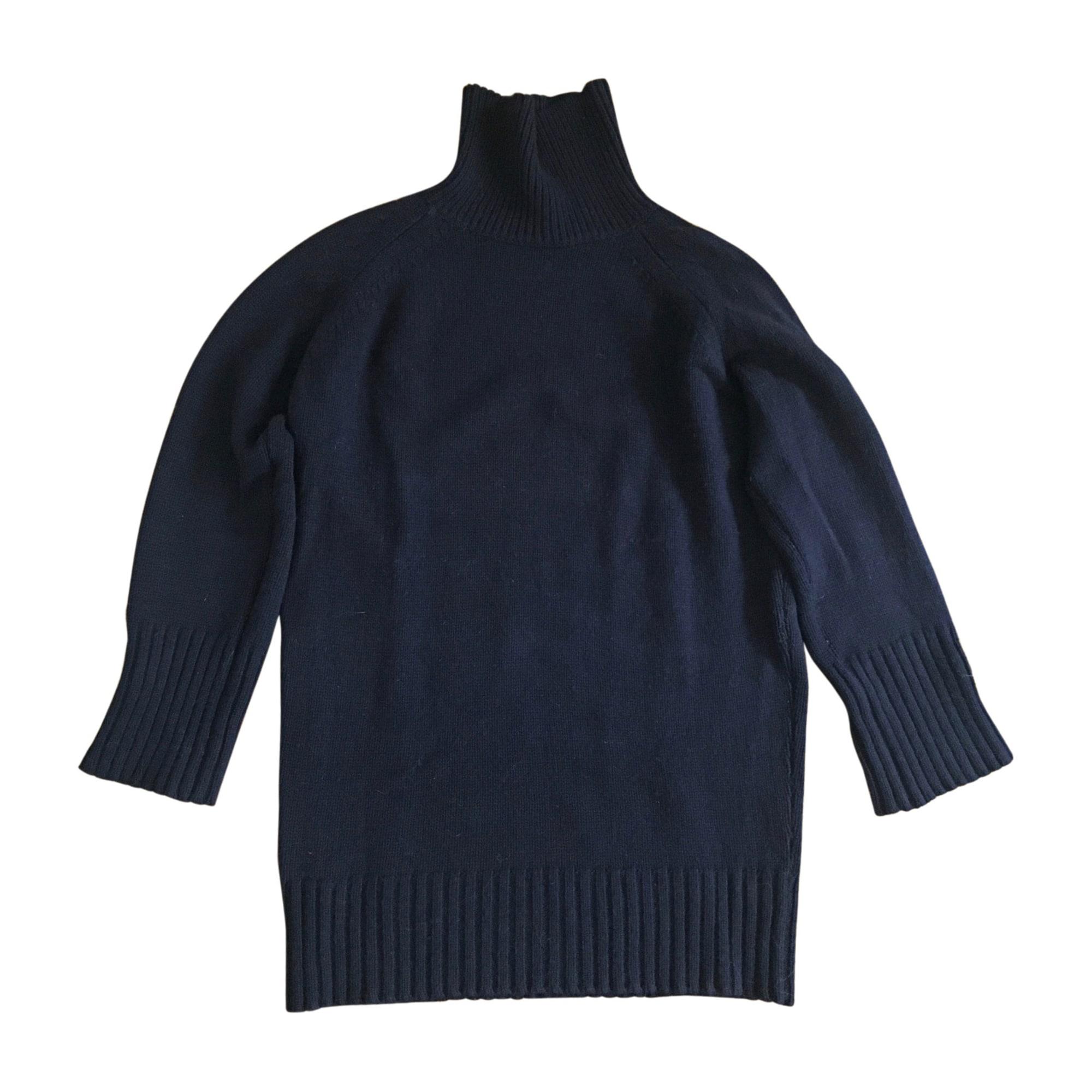 Pull tunique VANESSA BRUNO Box Bleu, bleu marine, bleu turquoise