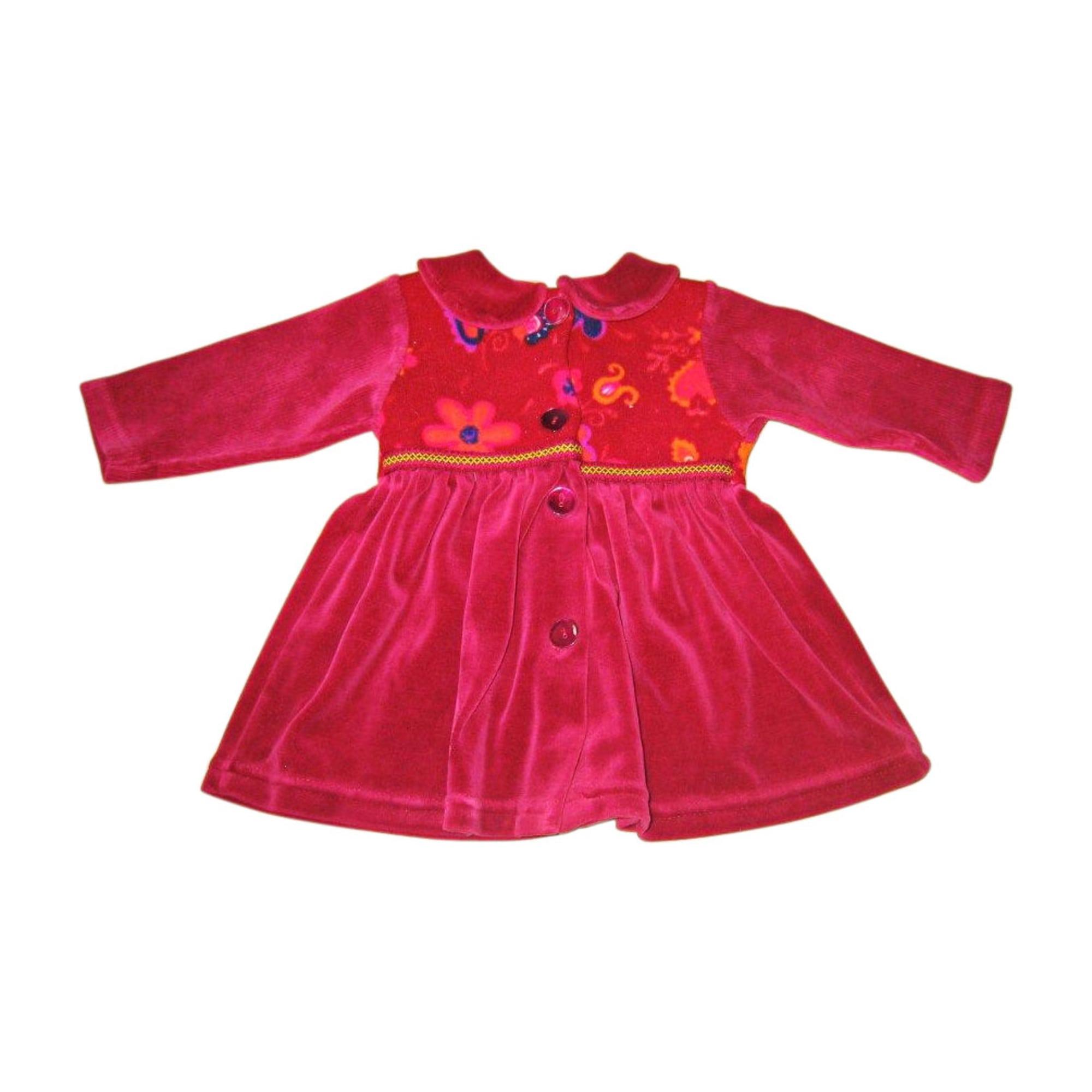 Robe ABSORBA Rouge, bordeaux