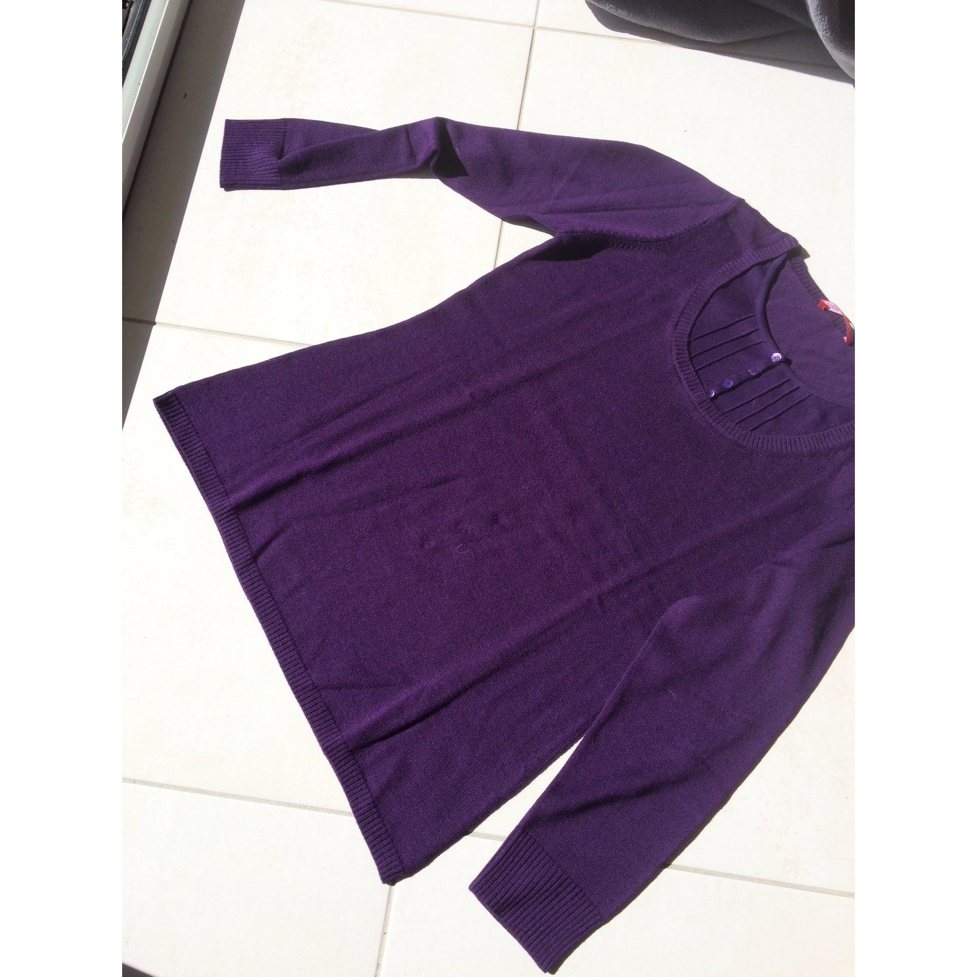Pull tunique ALAIN MANOUKIAN Violet, mauve, lavande