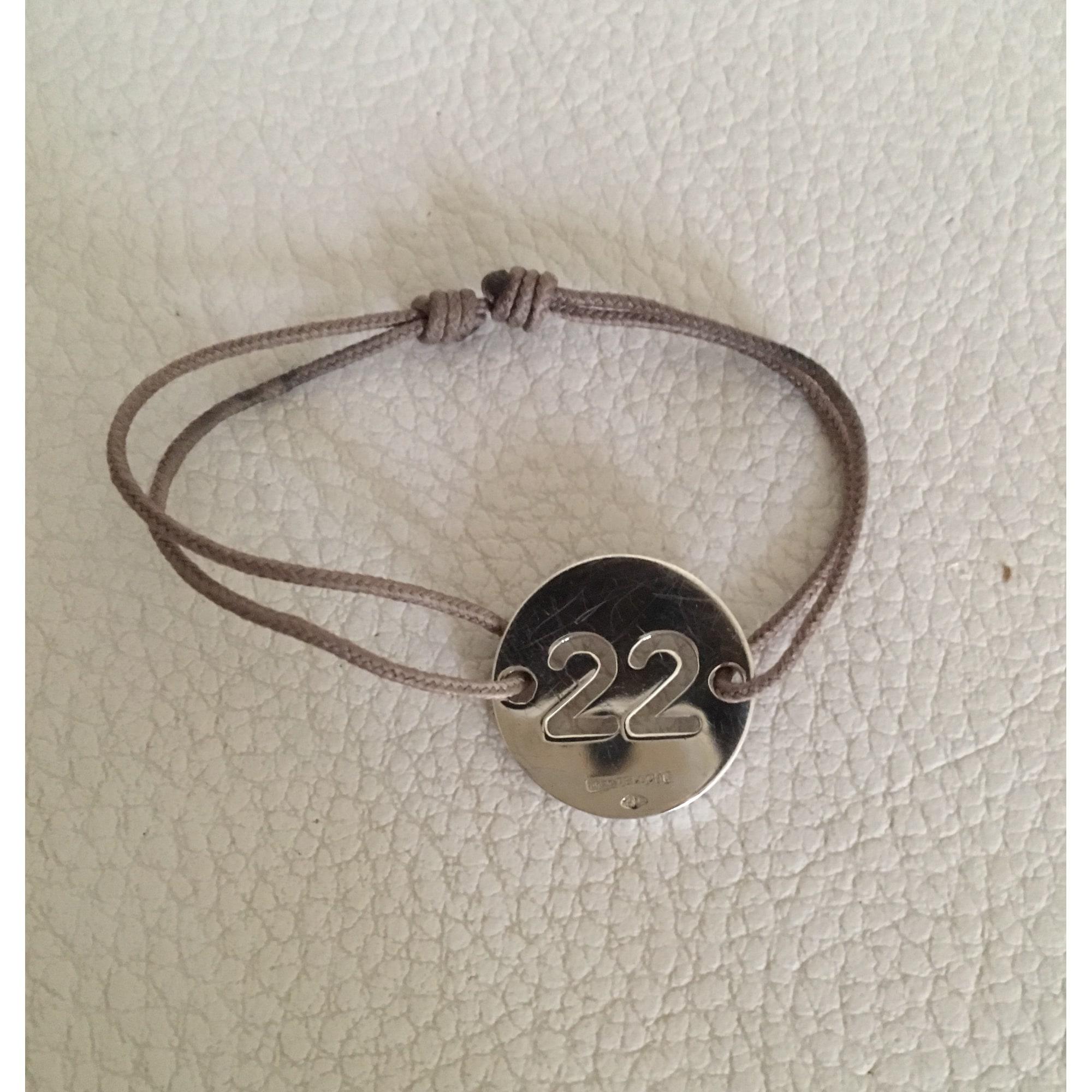 marc deloche bracelet cuir argent