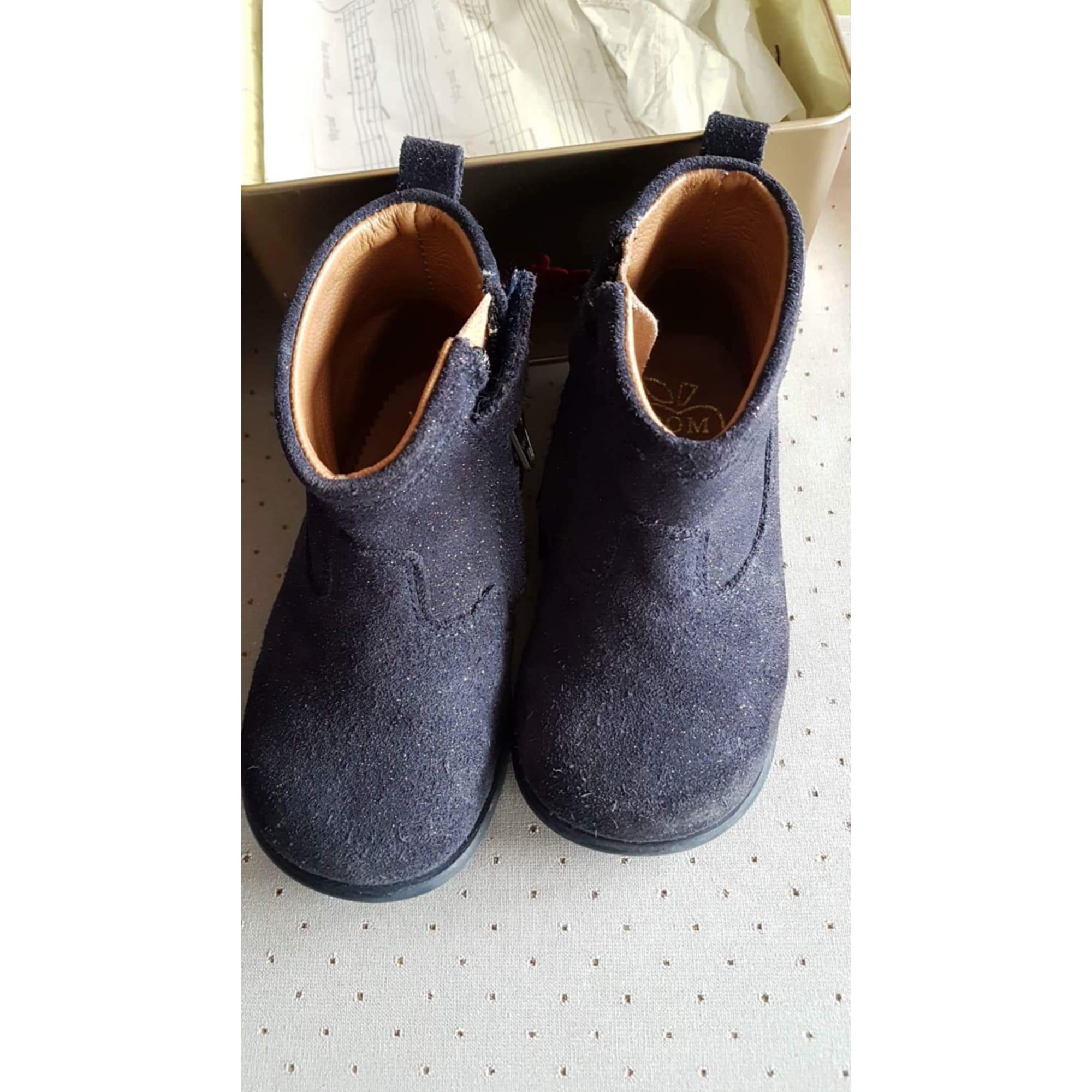 Bottines POM D'API Bleu, bleu marine, bleu turquoise