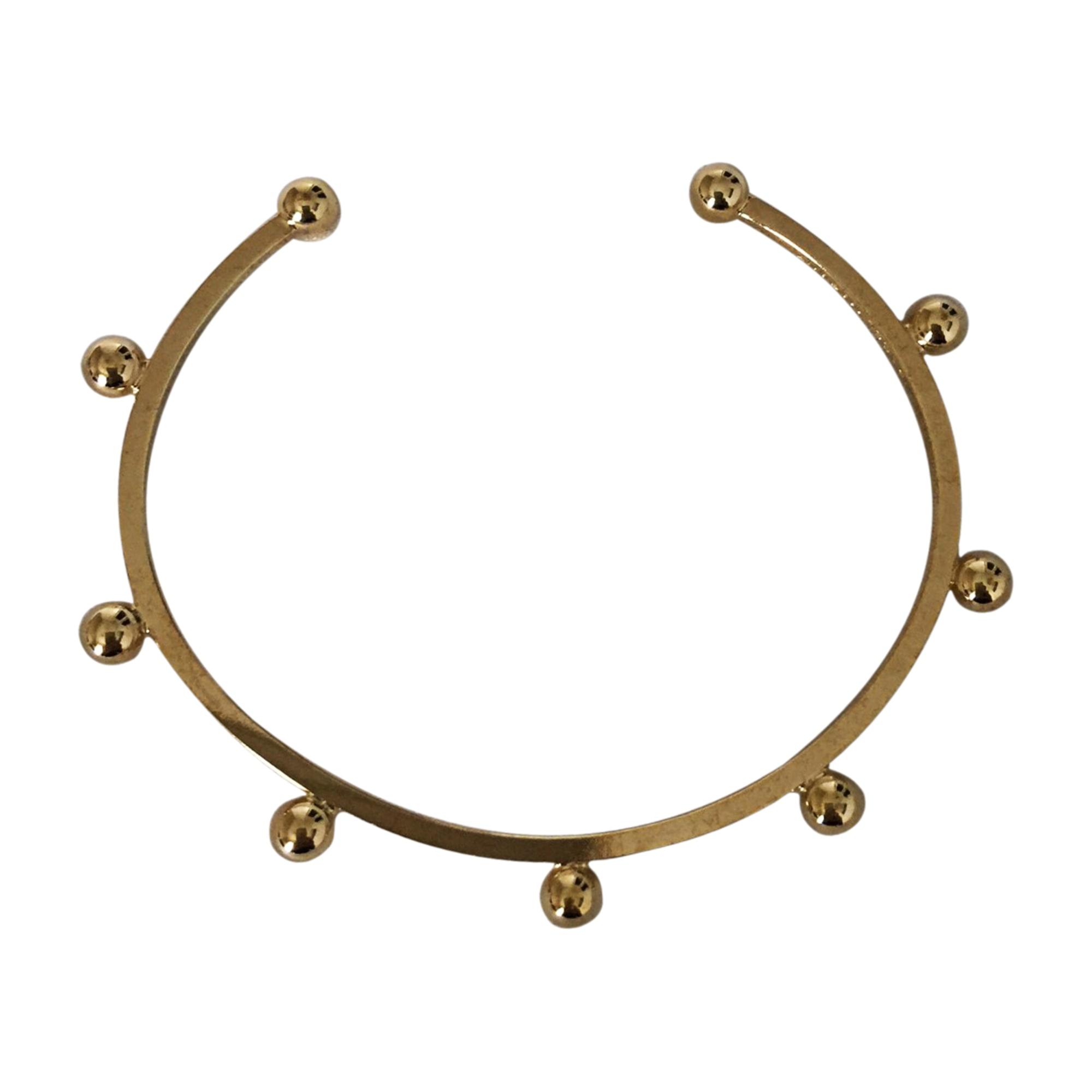 Bracelet ISABEL MARANT Doré, bronze, cuivre