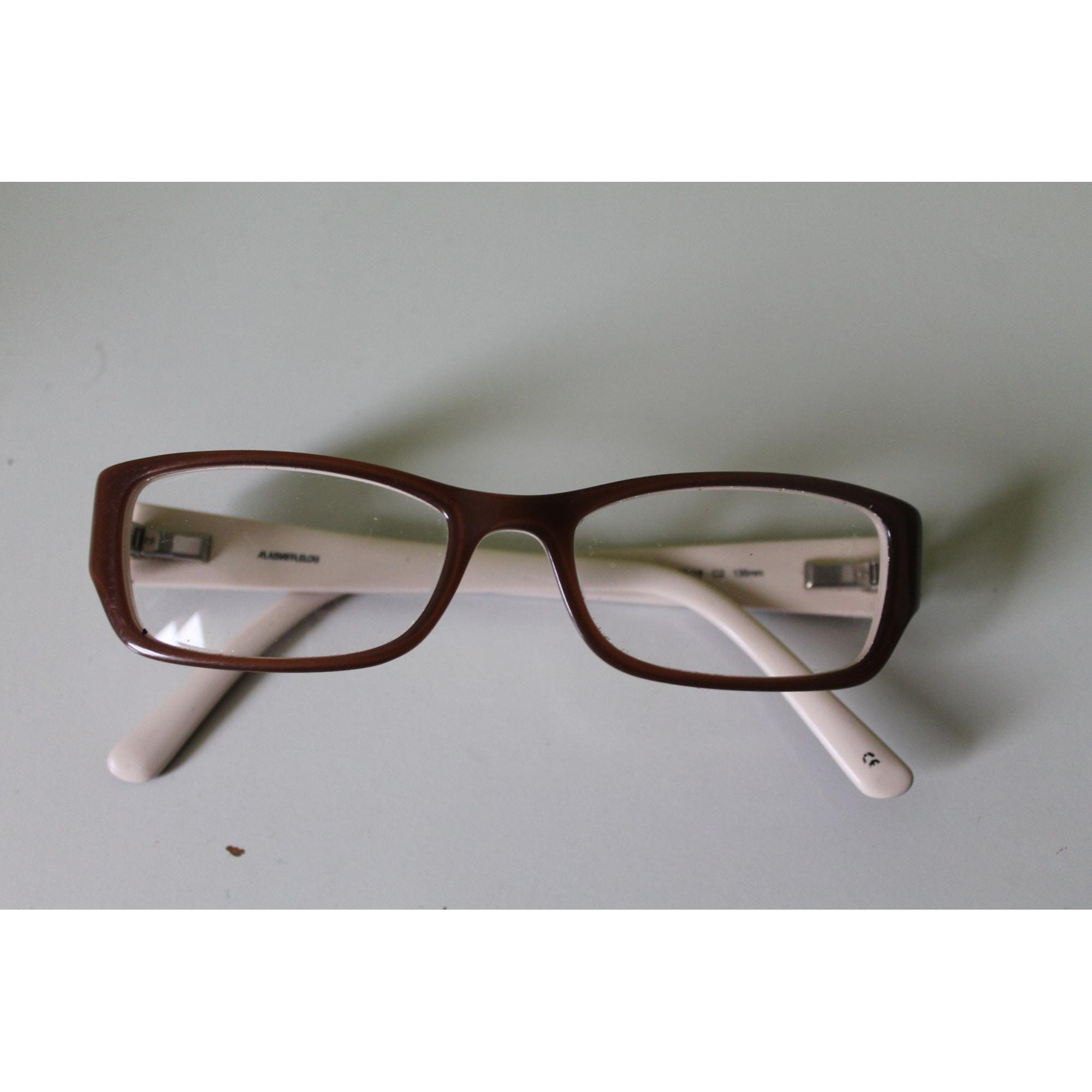 Monture de lunettes ALAIN AFFLELOU Beige, camel
