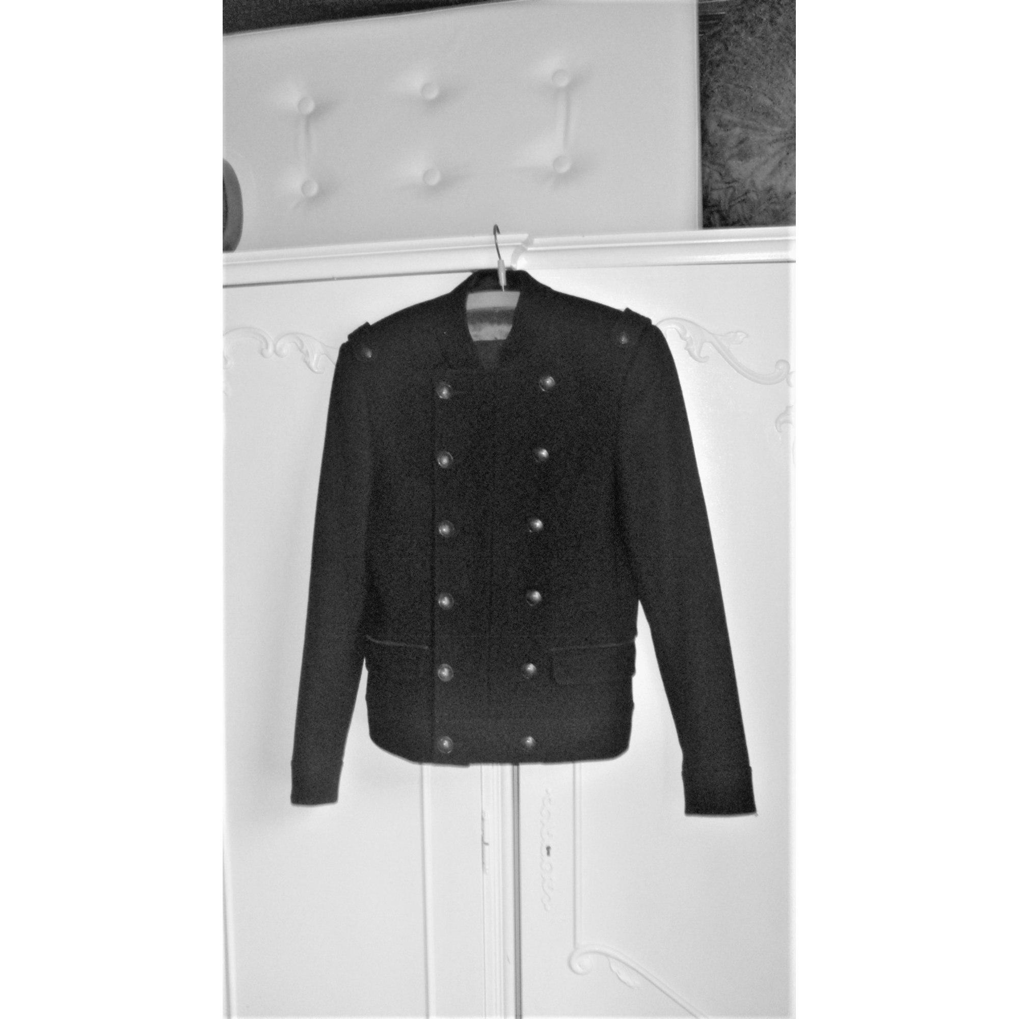 Veste officier ZARA taille S noir très bon état | eBay