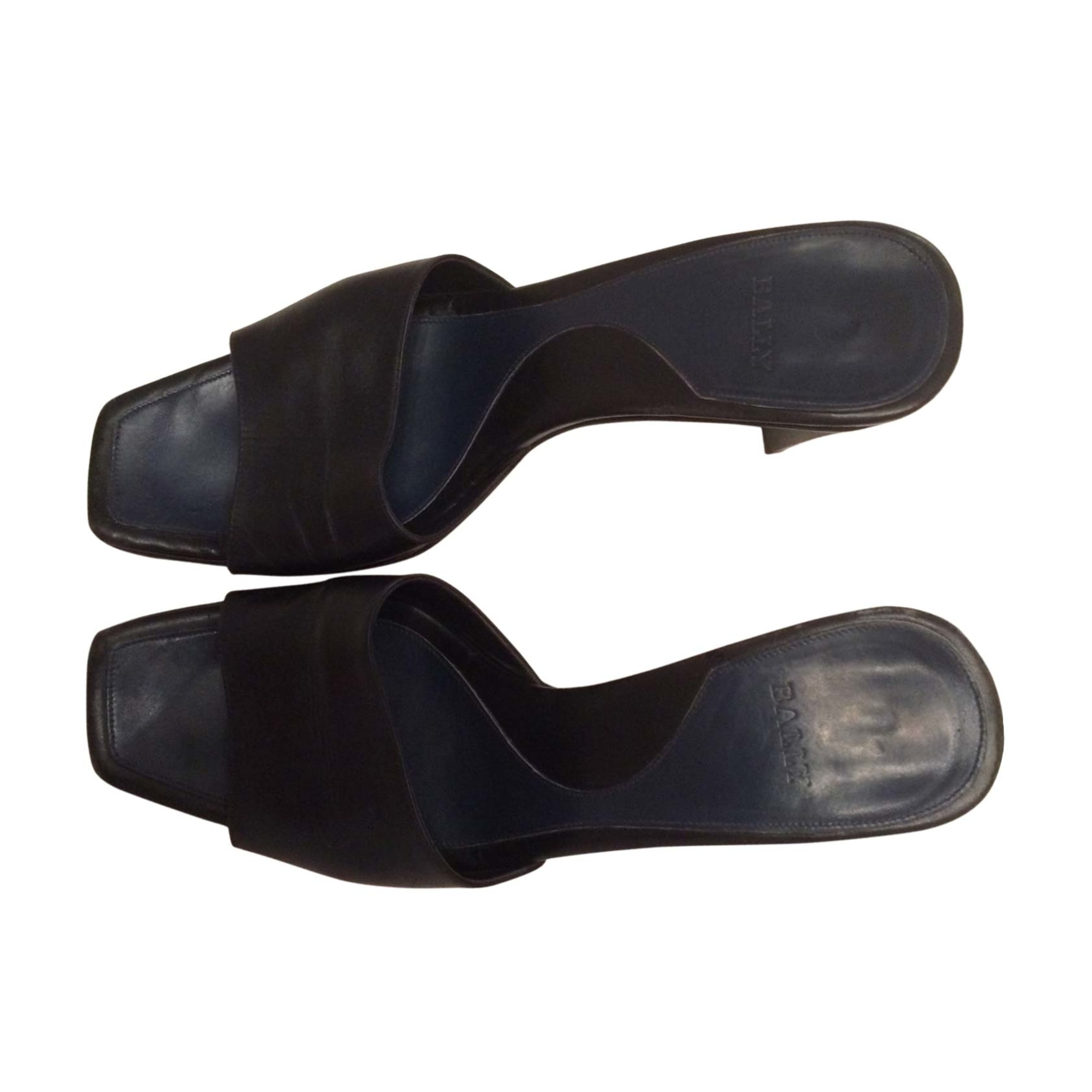Sandales à talons BALLY Noir