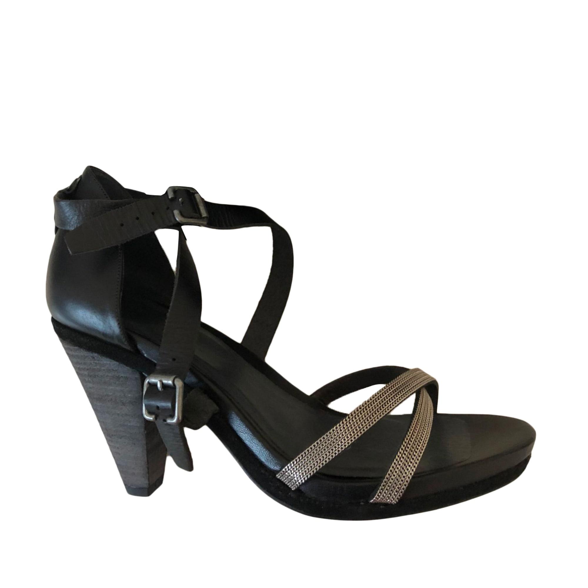 Sandales à talons IKKS Noir