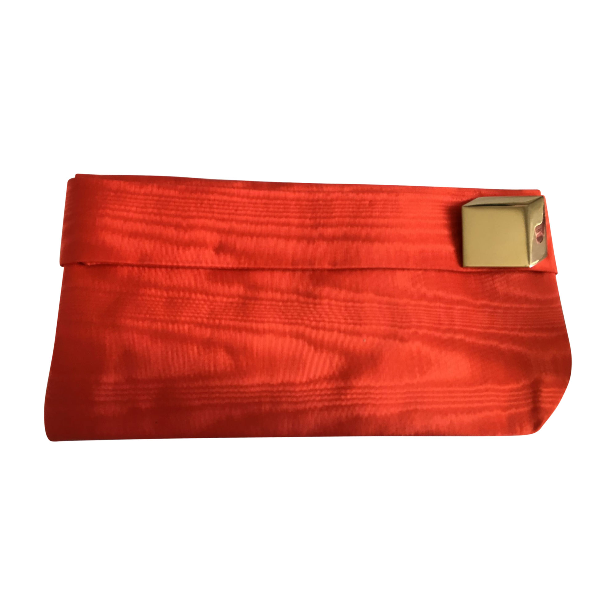 Sac pochette en tissu PIERRE HARDY Orange