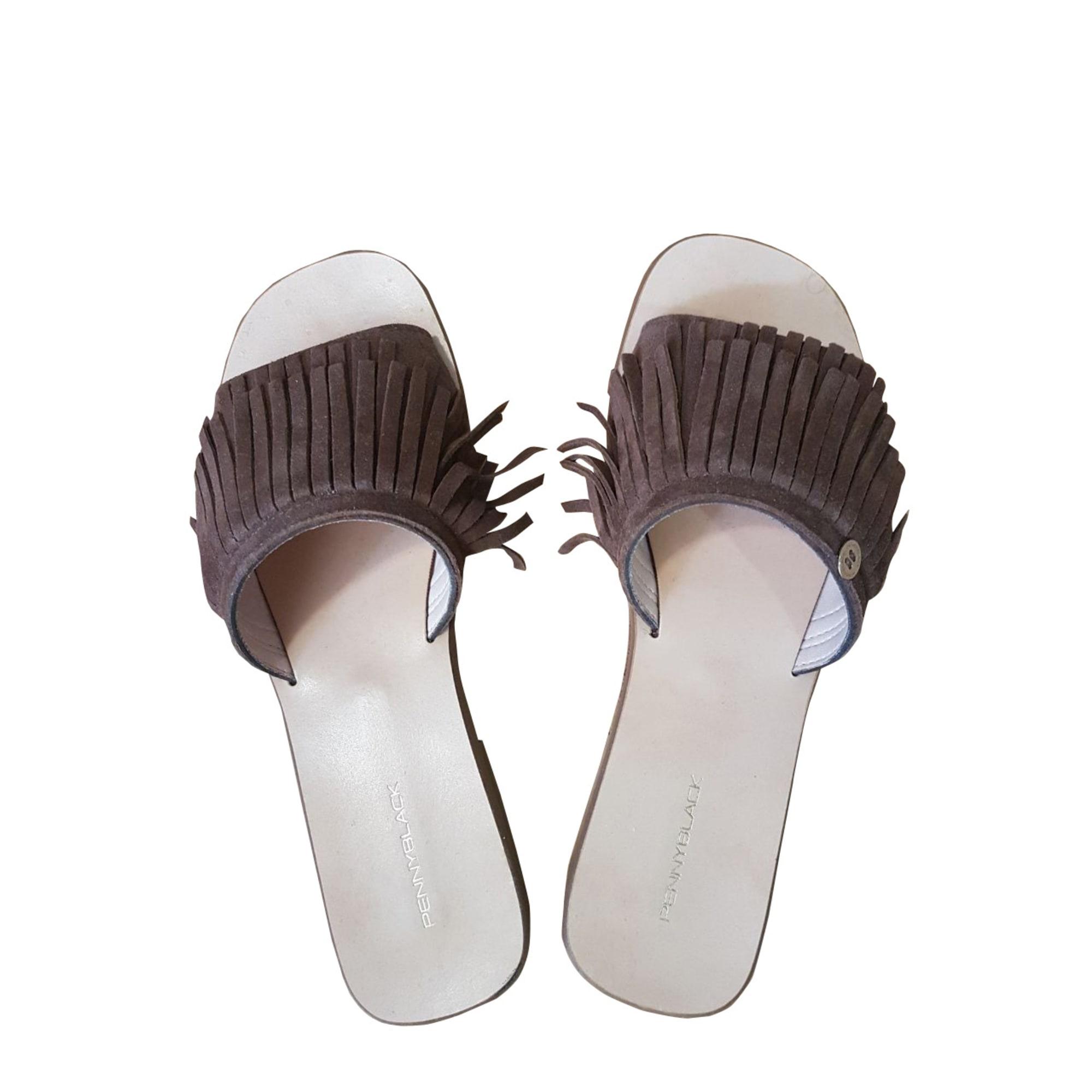 Chaussons & pantoufles PENNYBLACK Marron