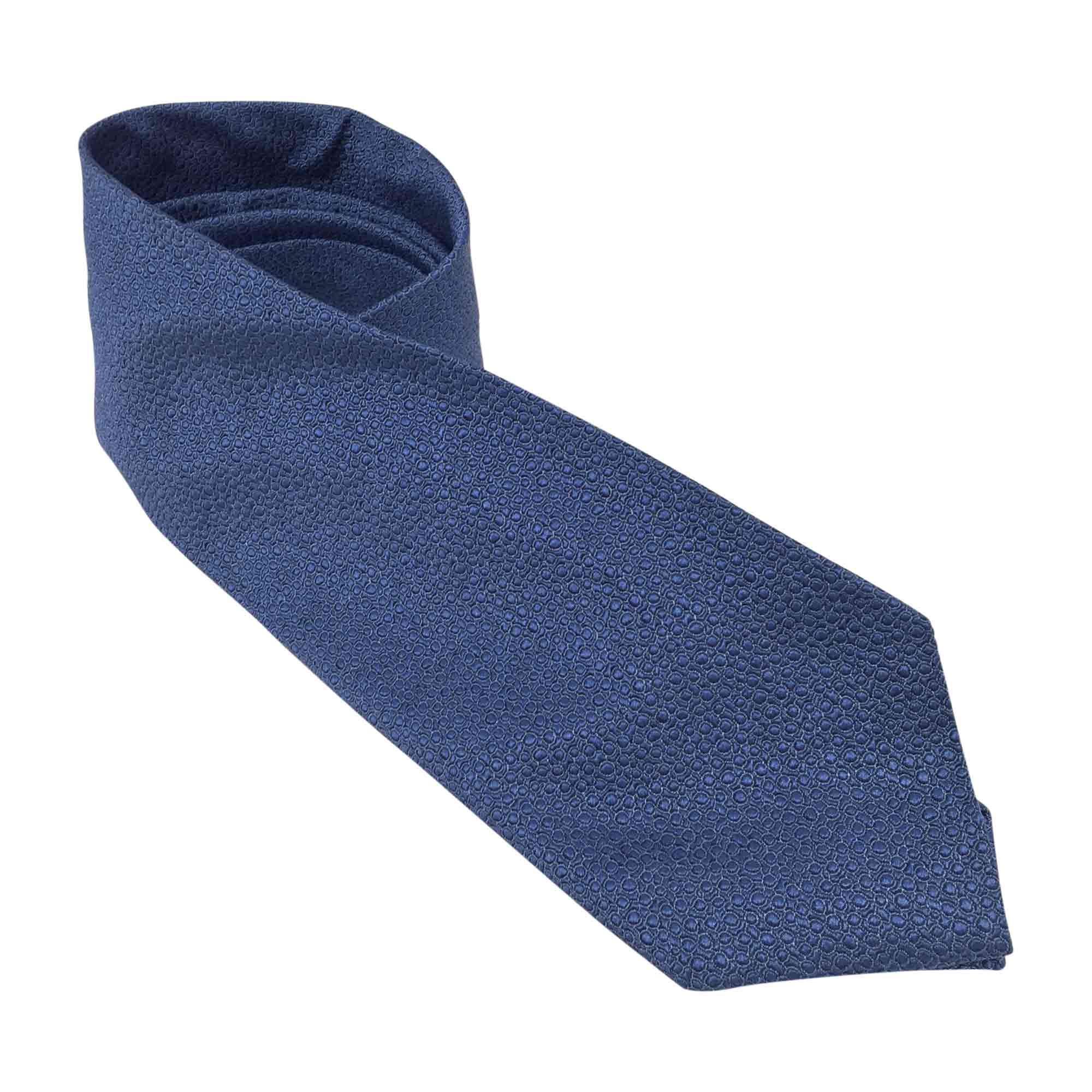 Cravate SALVATORE FERRAGAMO Bleu, bleu marine, bleu turquoise