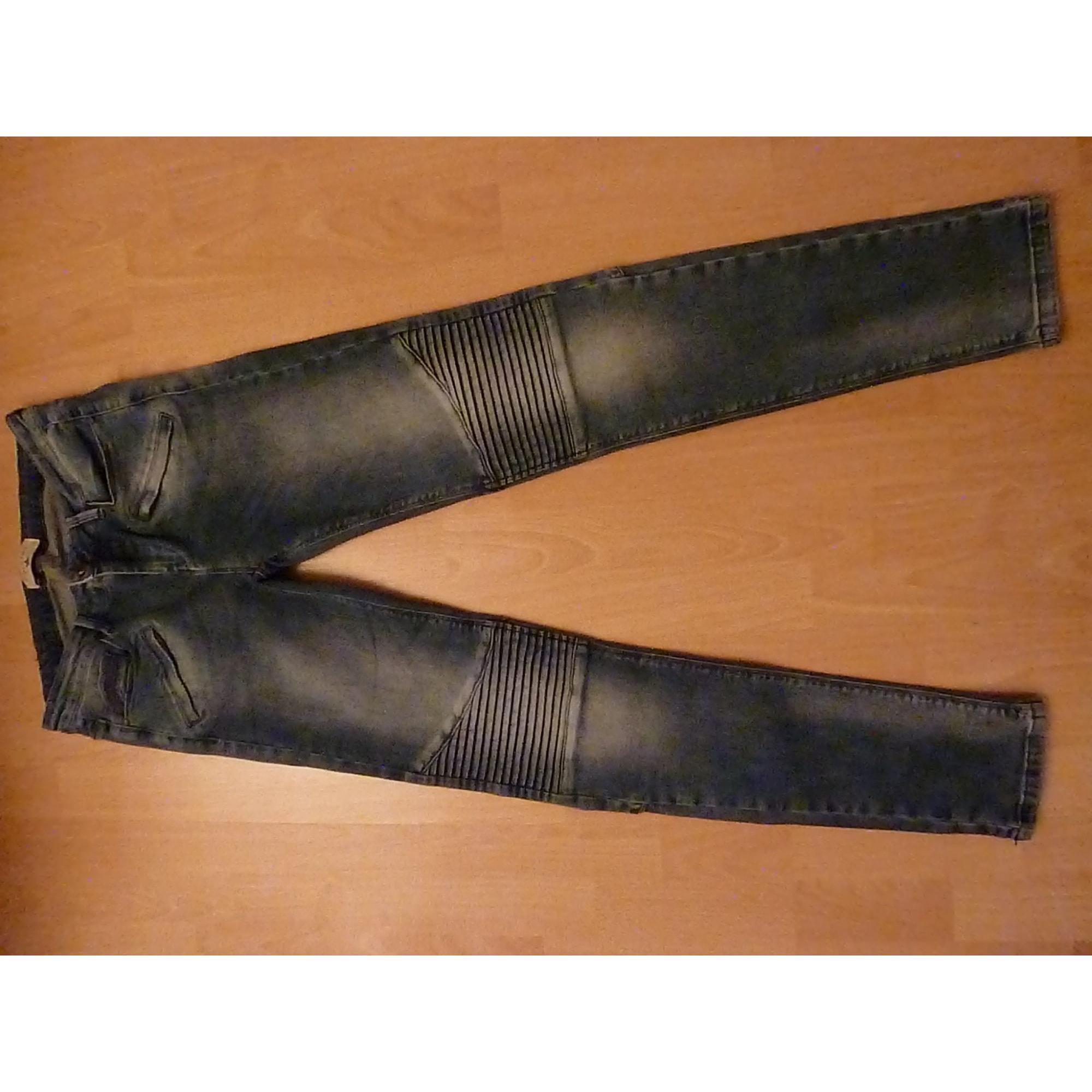 Jeans slim COTÉLAC Bleu, bleu marine, bleu turquoise