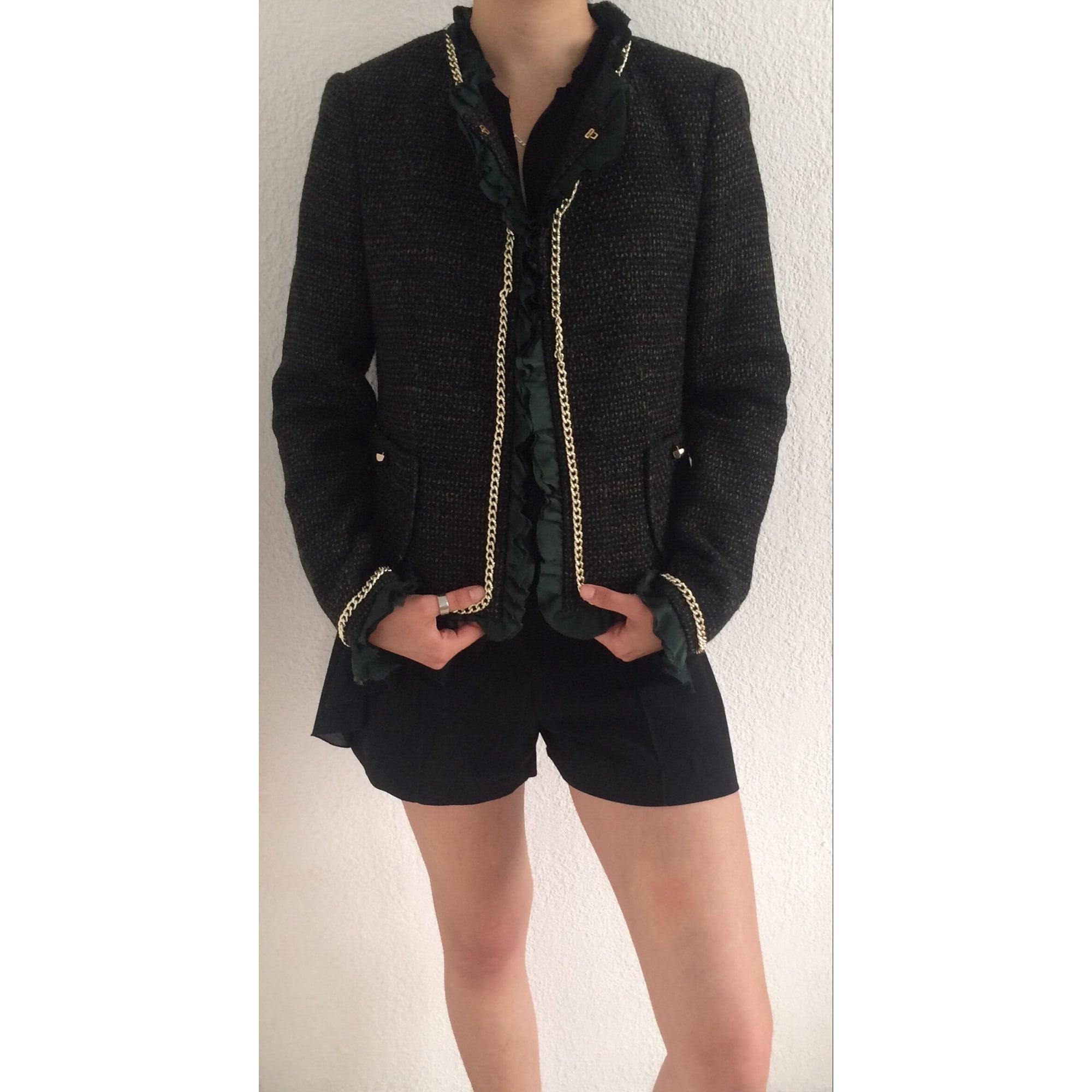 Blazer, veste tailleur SANDRO 40 (L, T3) doré vendu par