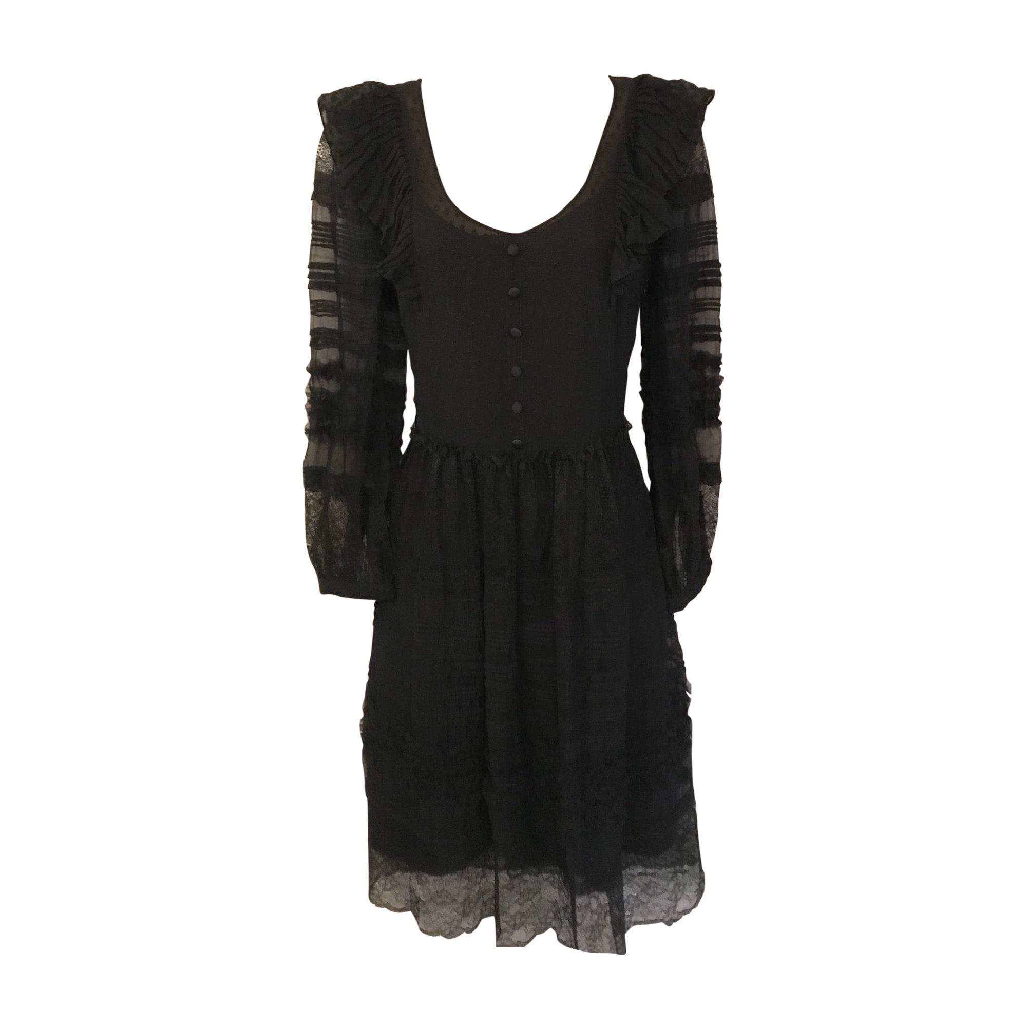Robe mi-longue DEREK LAM Noir