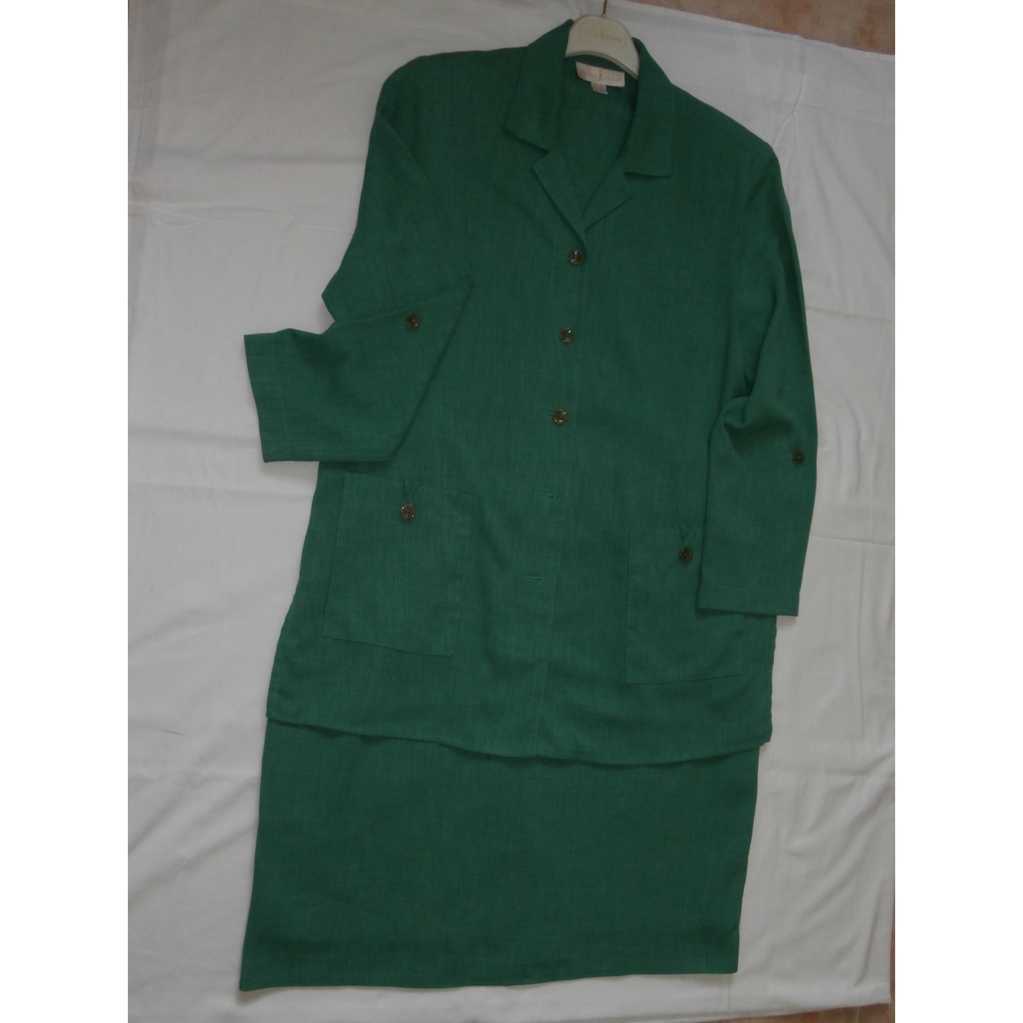 Tailleur jupe UN JOUR AILLEURS Vert