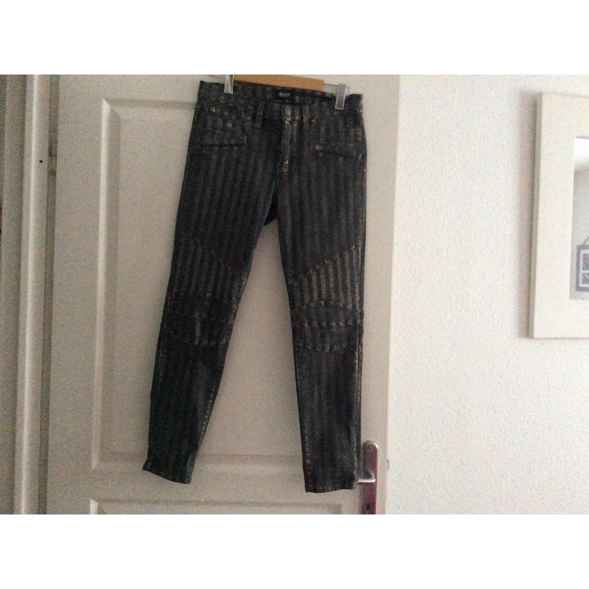 Pantalon slim, cigarette HUDSON Kaki