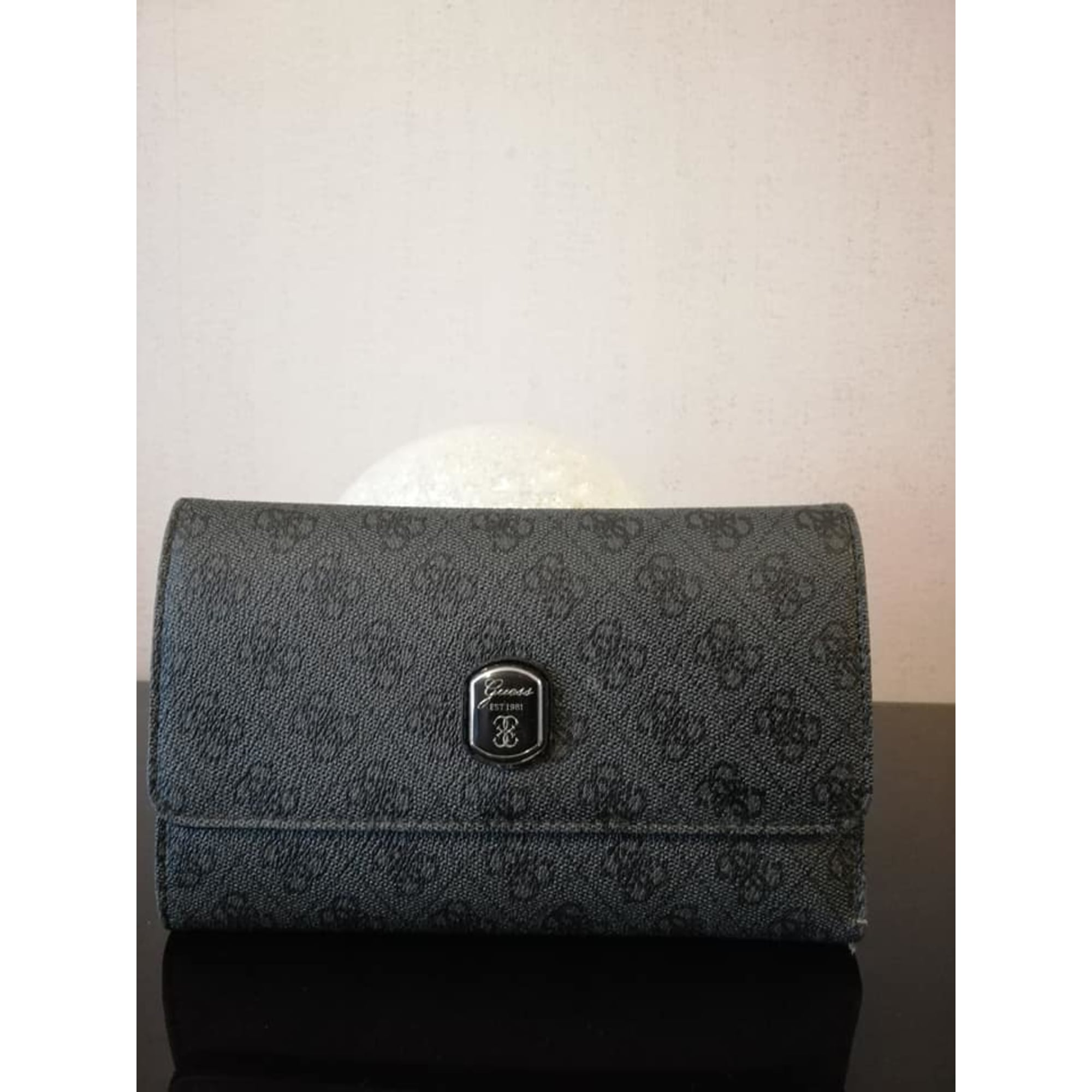 Portefeuille GUESS Gris, anthracite