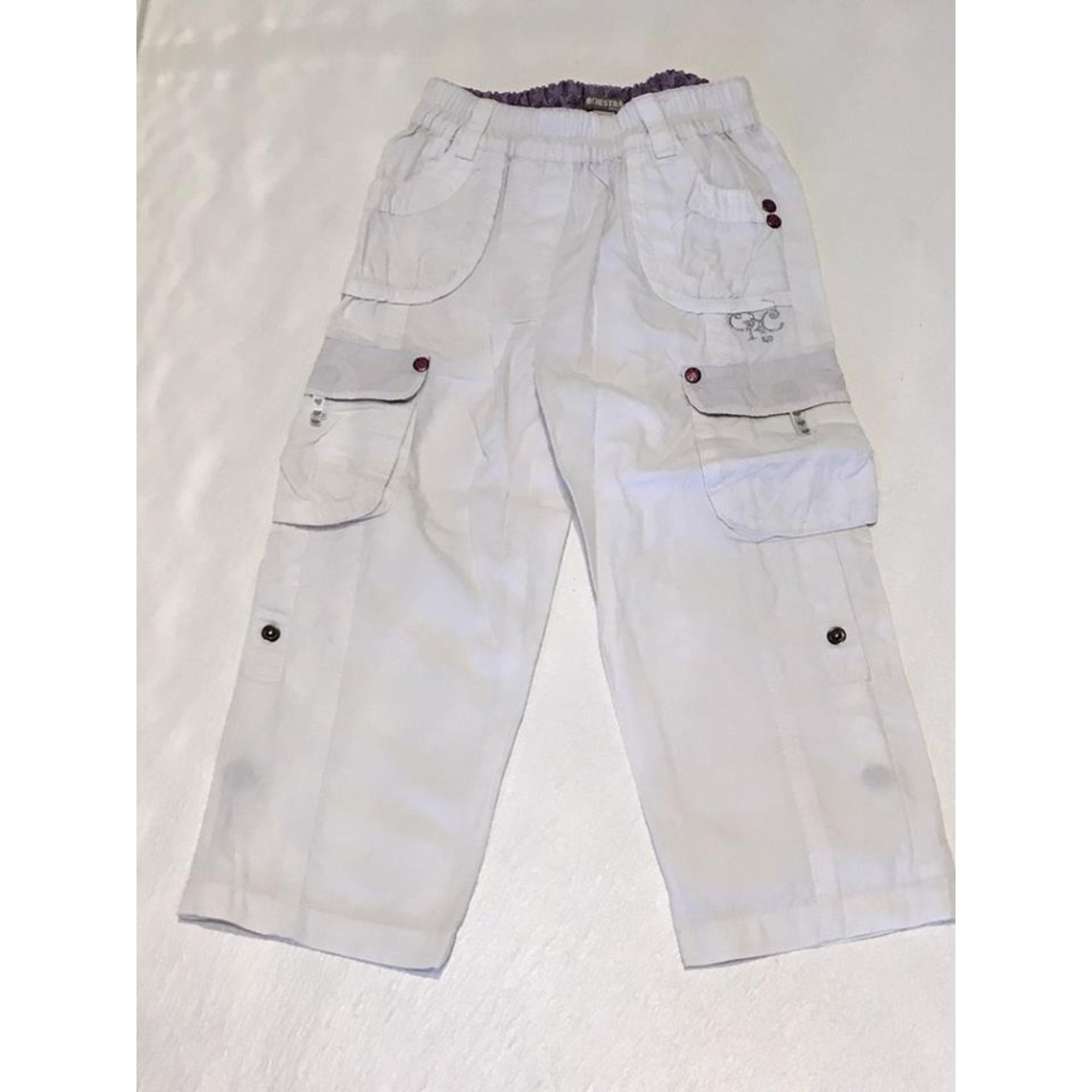 Pantalon ORCHESTRA Blanc, blanc cassé, écru