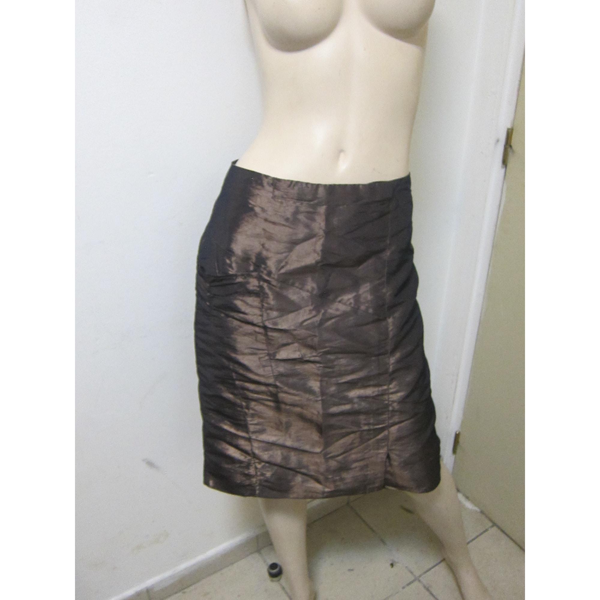 Tailleur jupe SOLOLA Doré, bronze, cuivre
