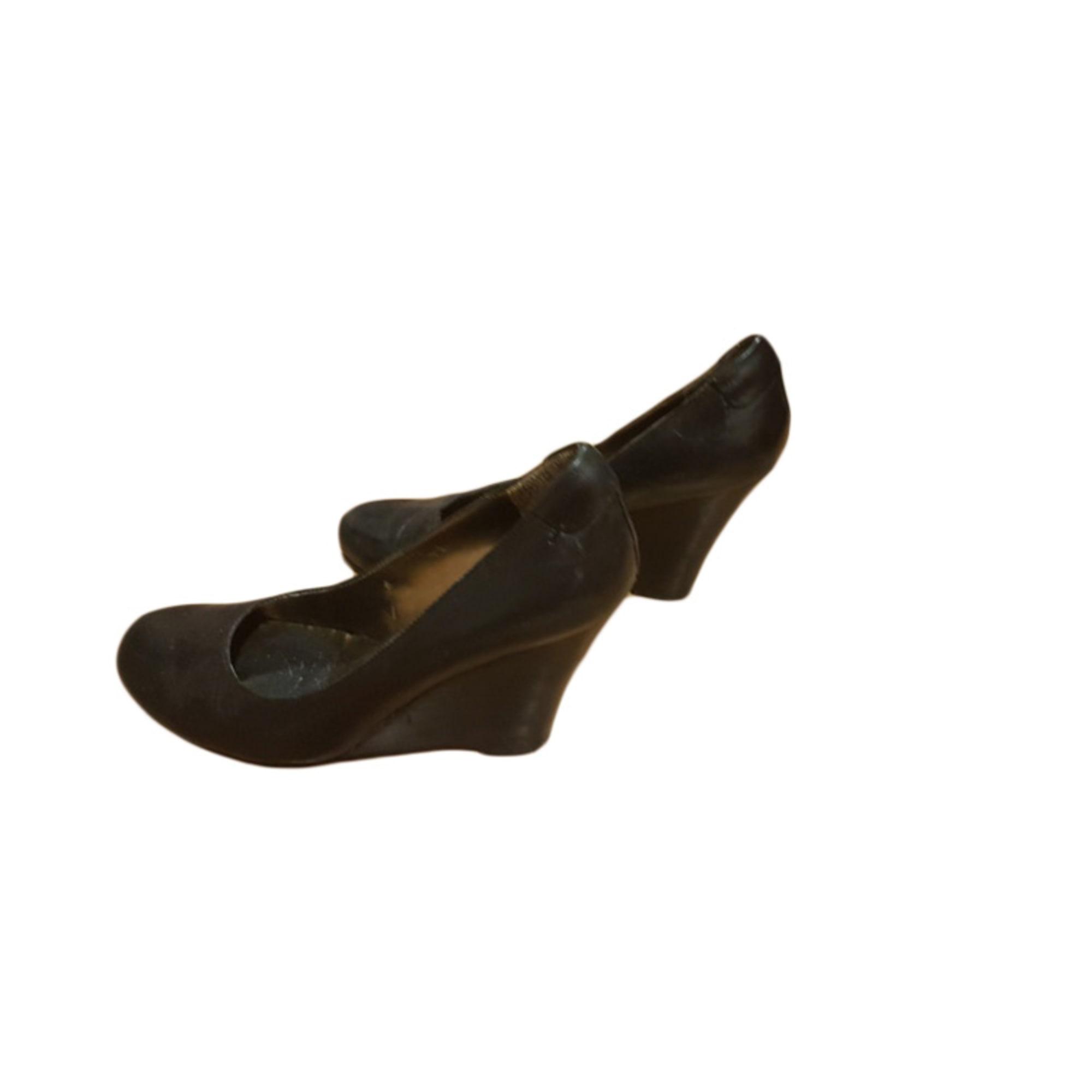 Escarpins compensés NINE WEST Noir