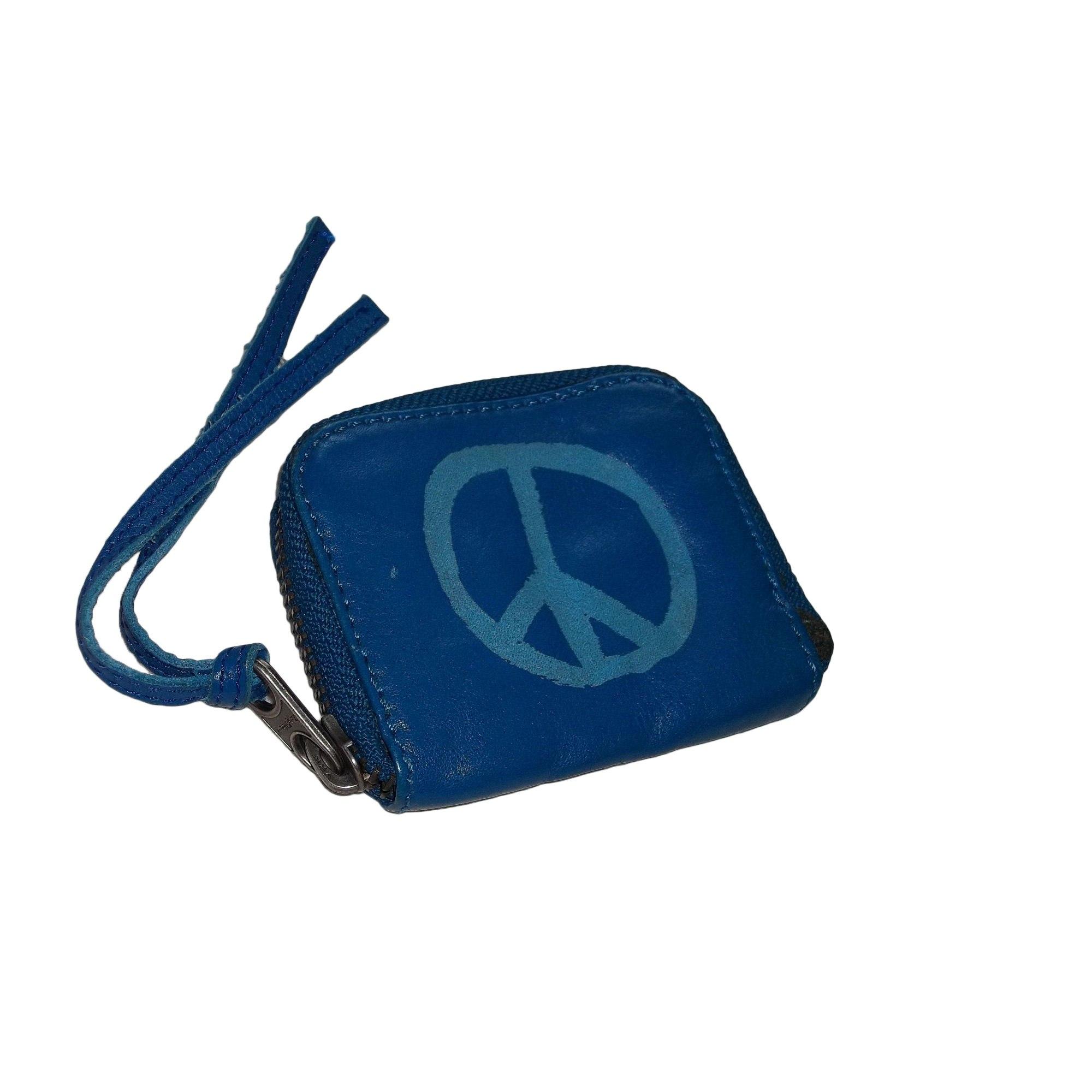 Porte-monnaie ZADIG & VOLTAIRE Bleu, bleu marine, bleu turquoise