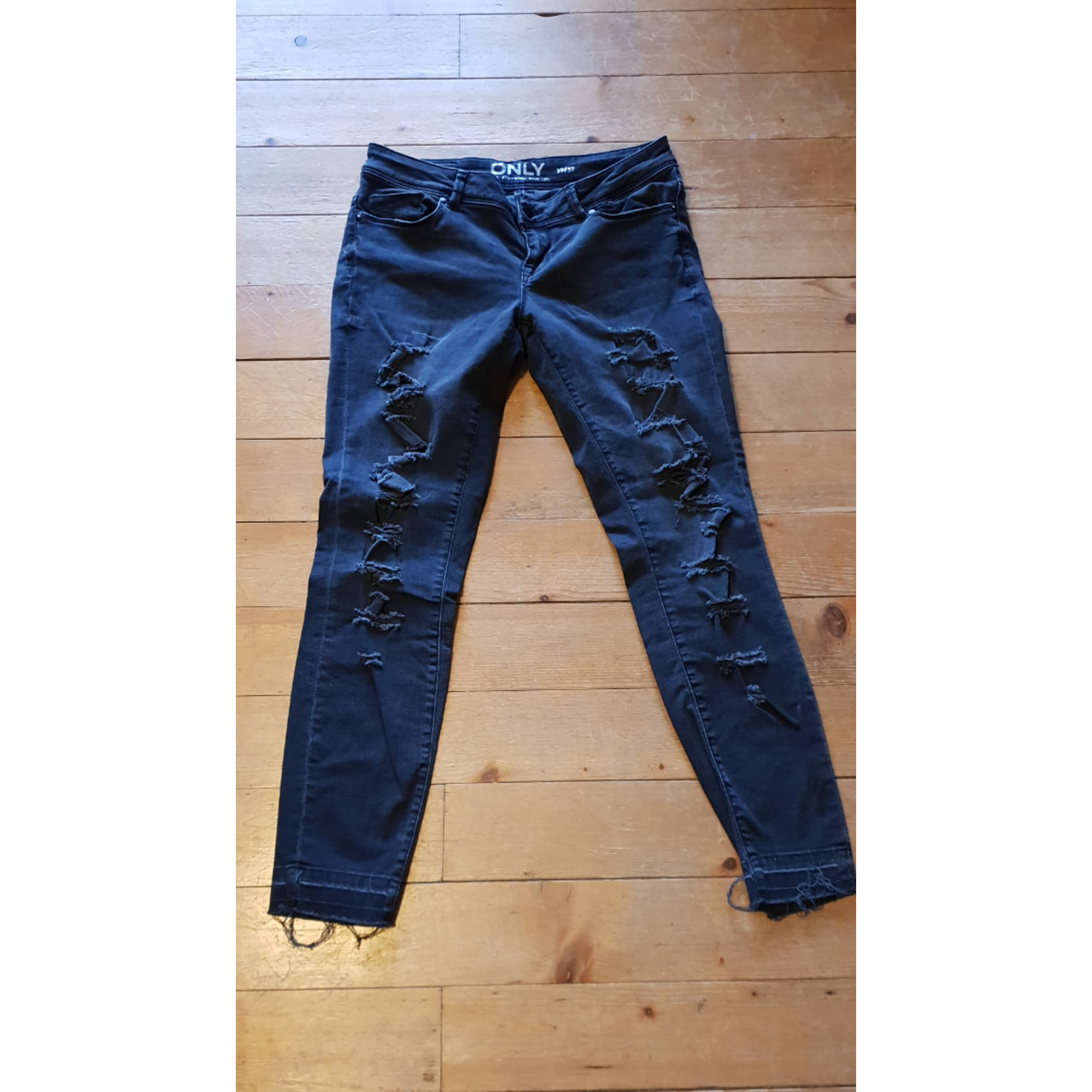 Jeans slim ONLY Noir