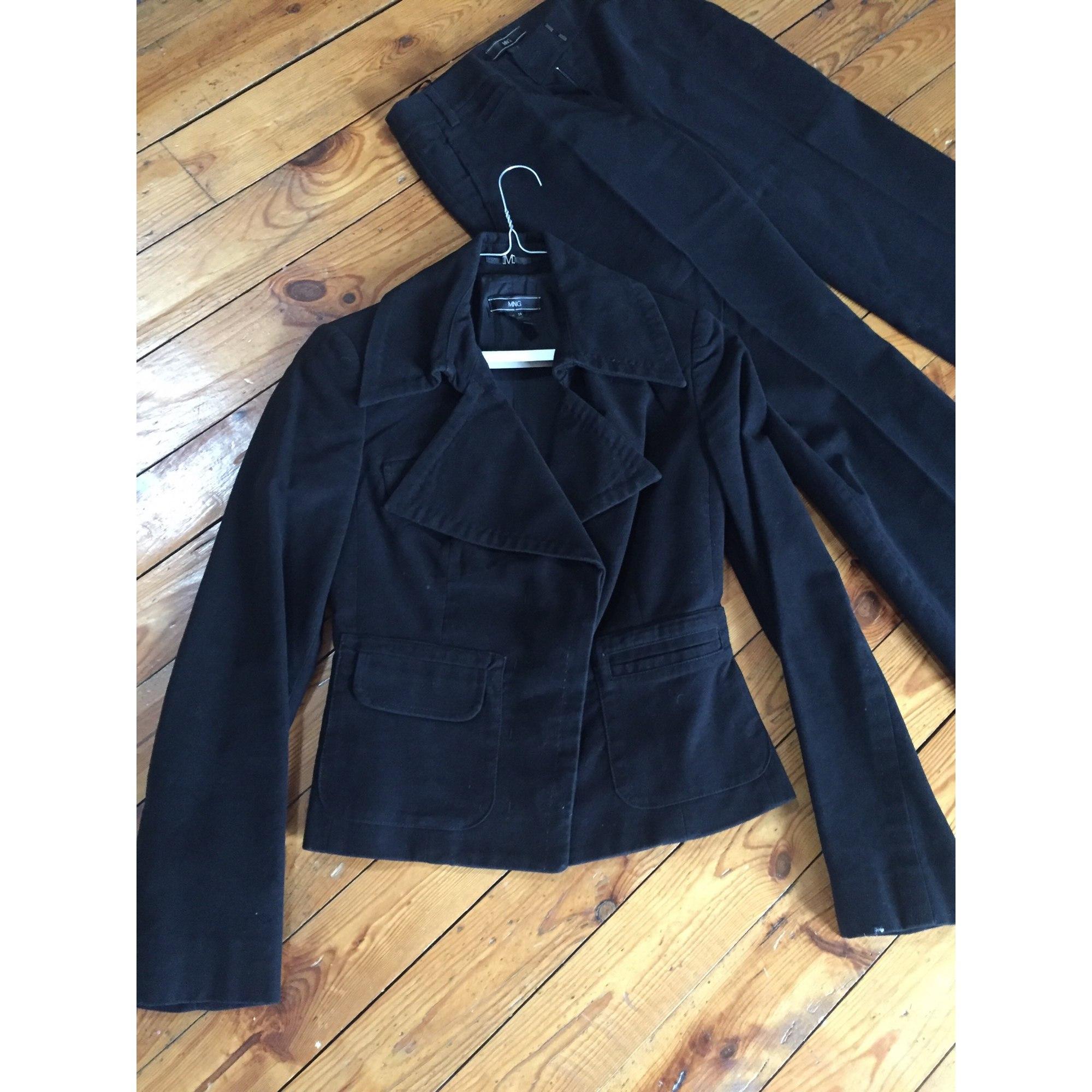 Tailleur pantalon MANGO Noir
