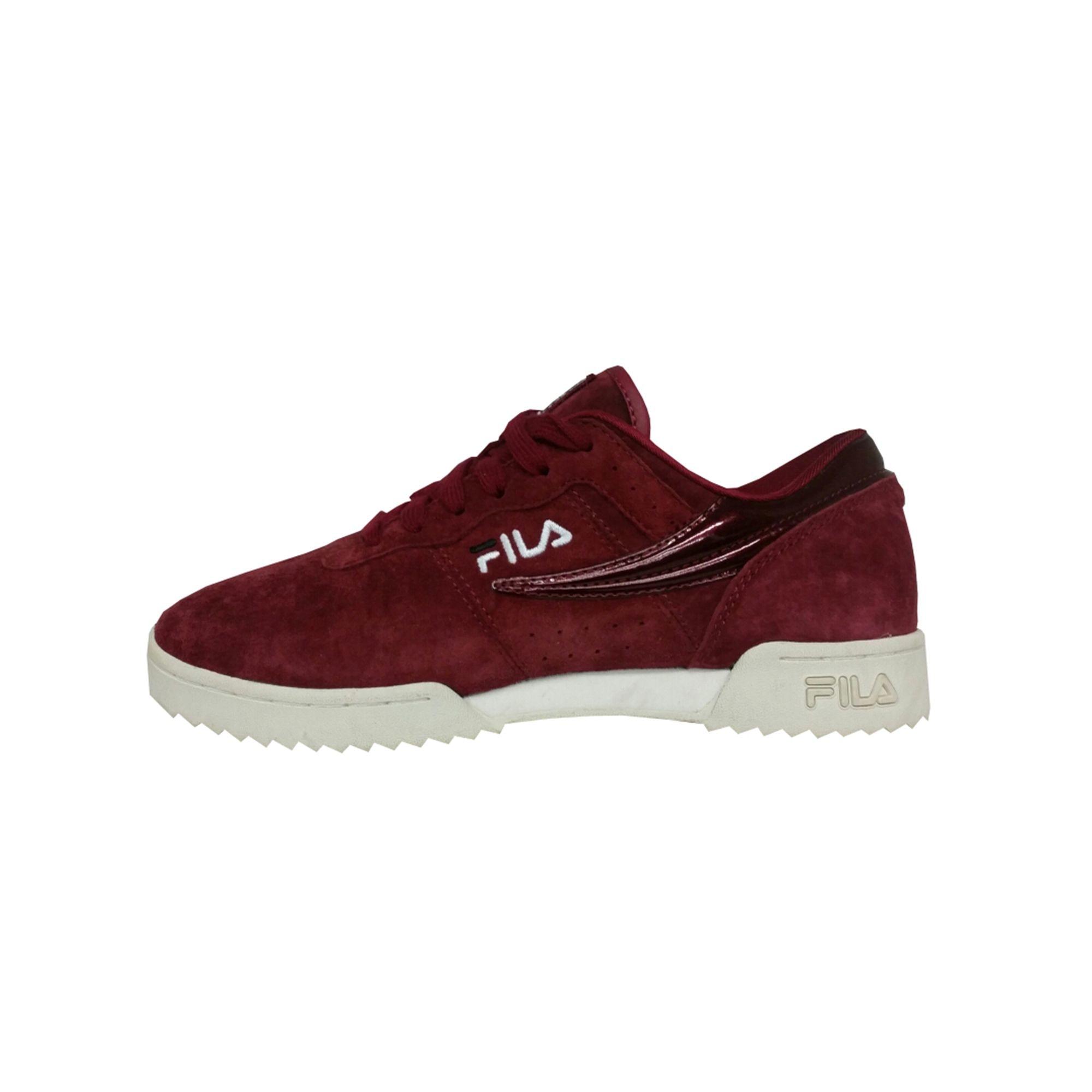Chaussures de sport FILA Rouge, bordeaux