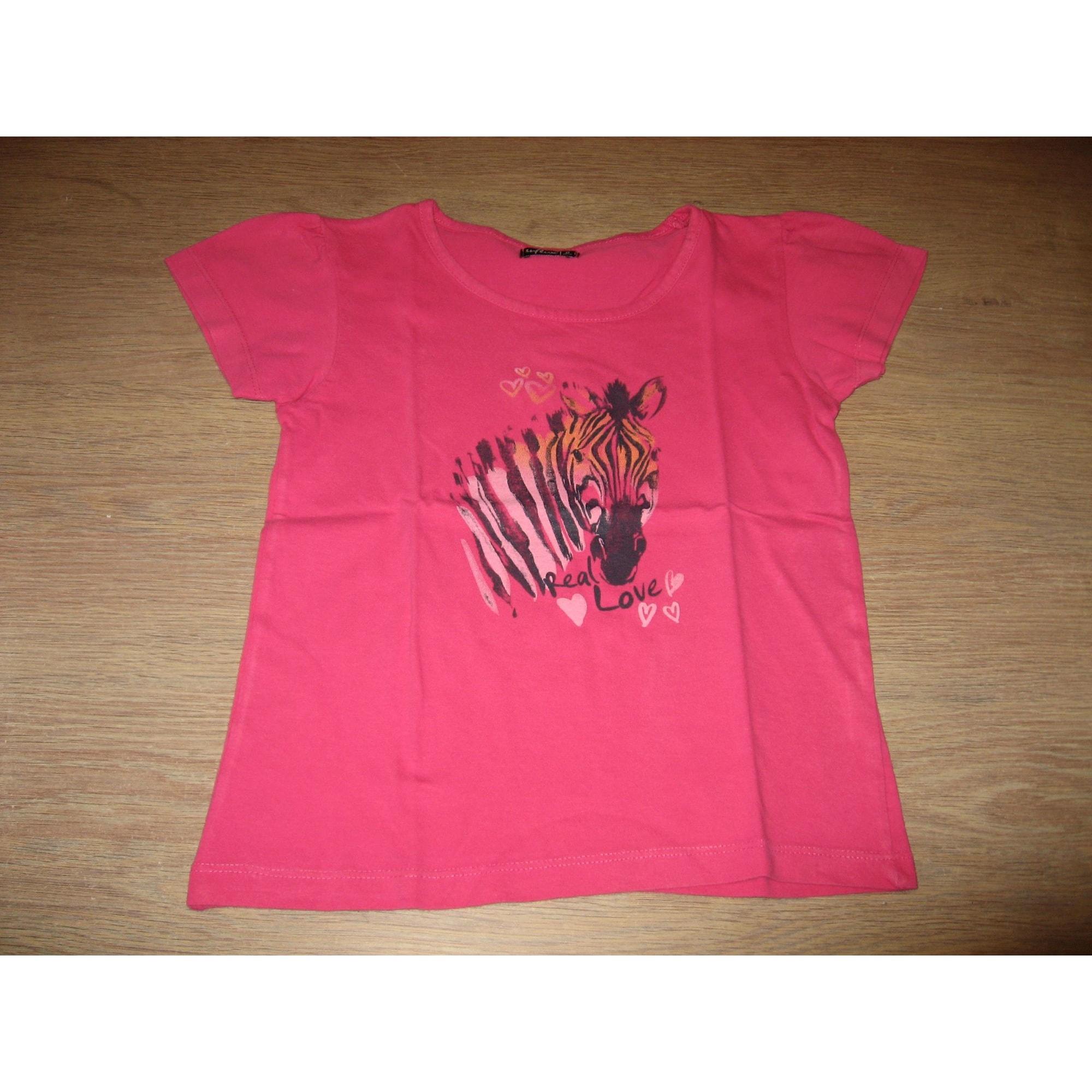 Top, Tee-shirt INFLUX Rose, fuschia, vieux rose
