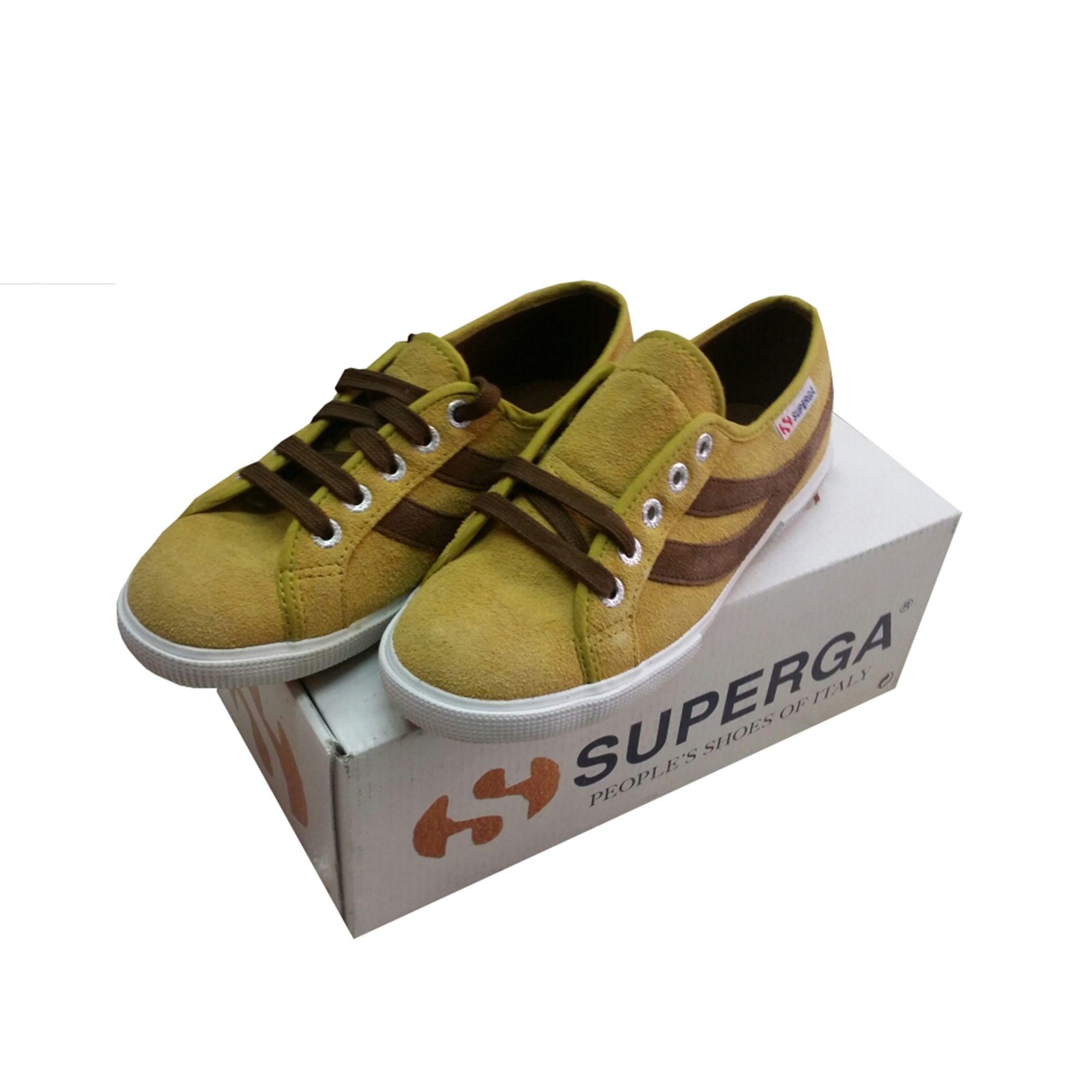 Chaussures de sport SUPERGA Jaune