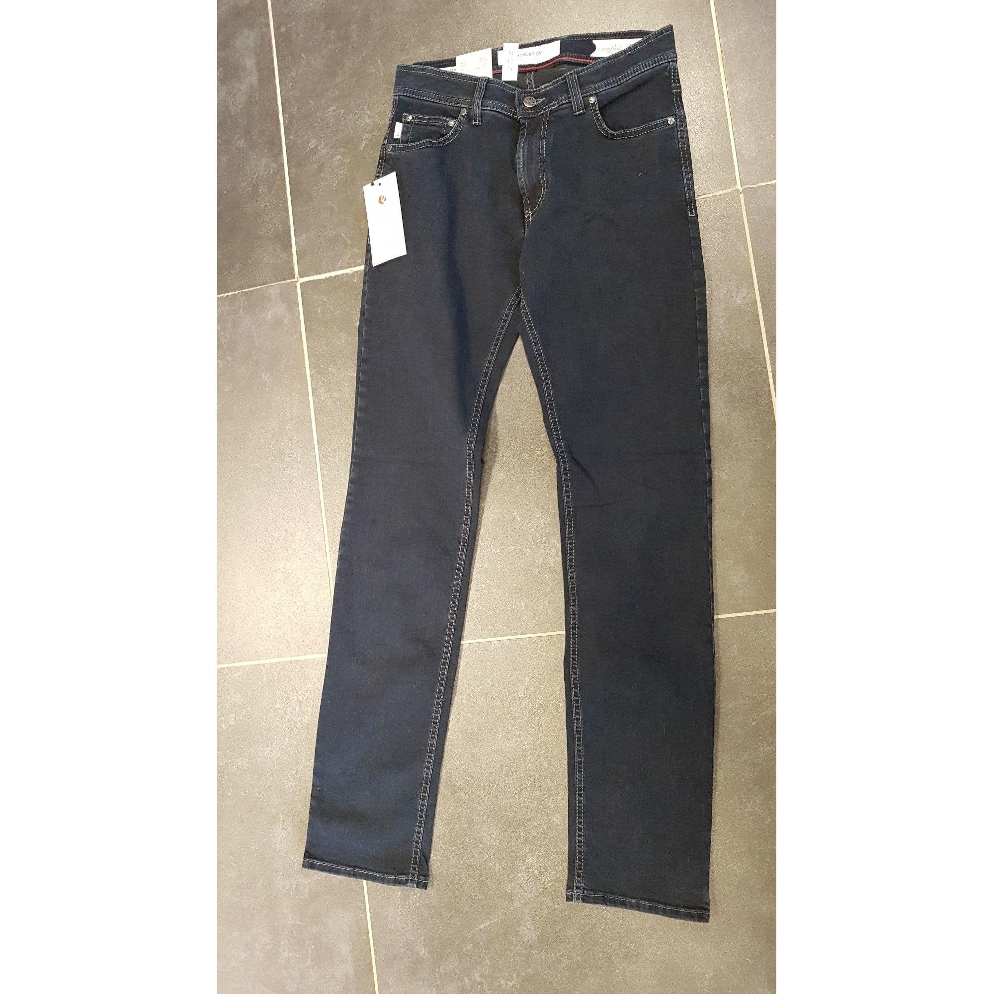 Jeans droit PIONIER Noir
