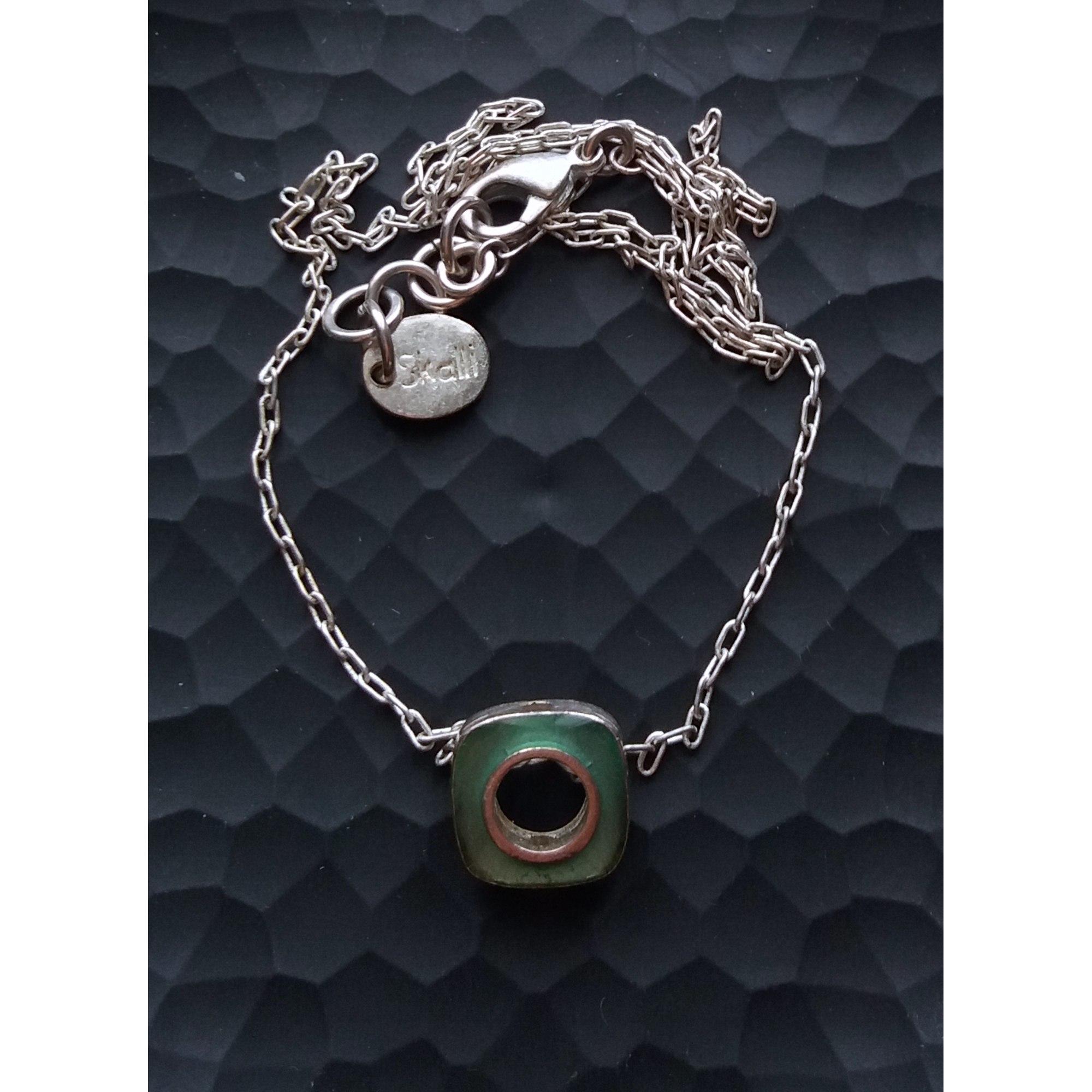 Pendentif, collier pendentif SKALLI Argenté, acier