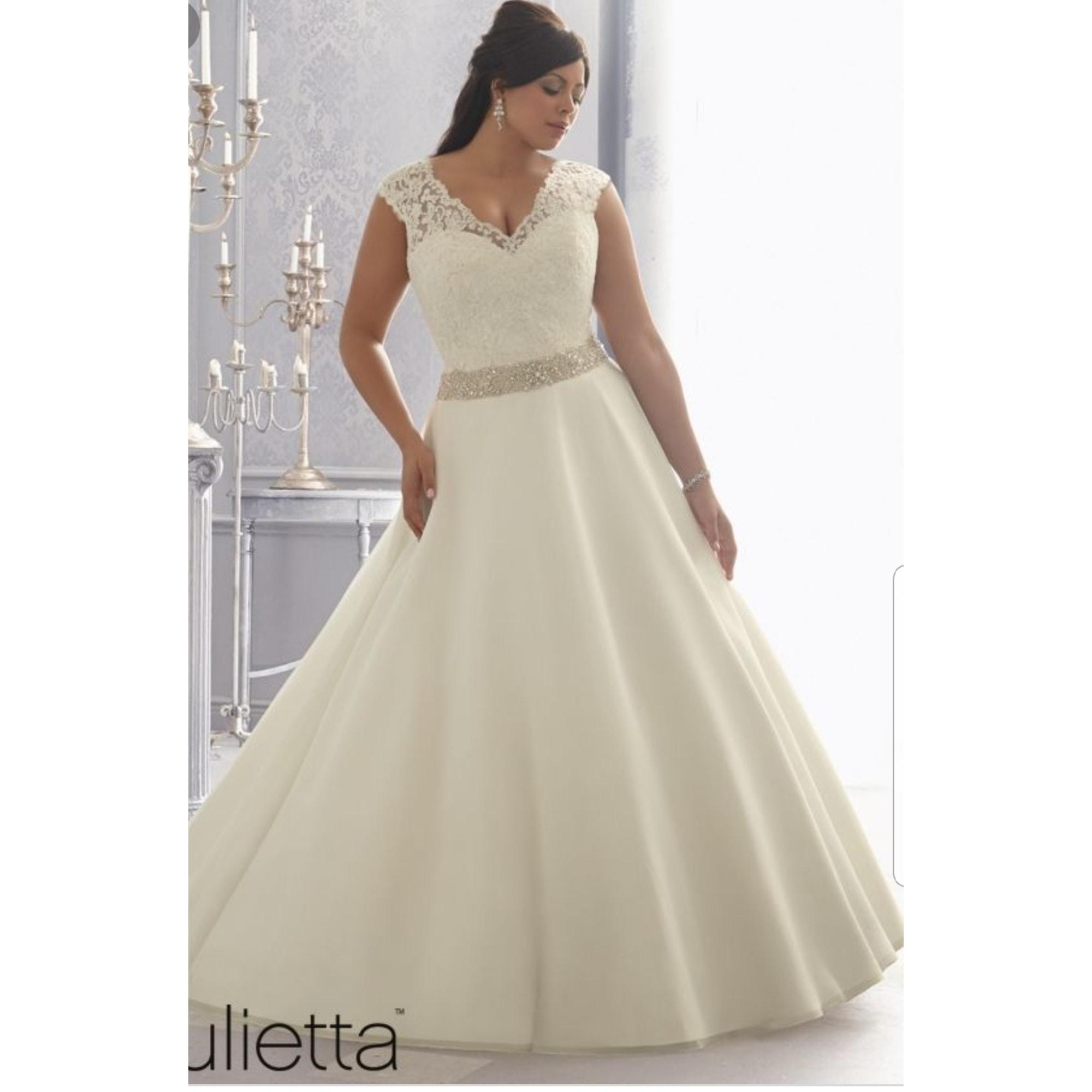Robe de mariée MORI LEE 48 (XXXL) blanc -
