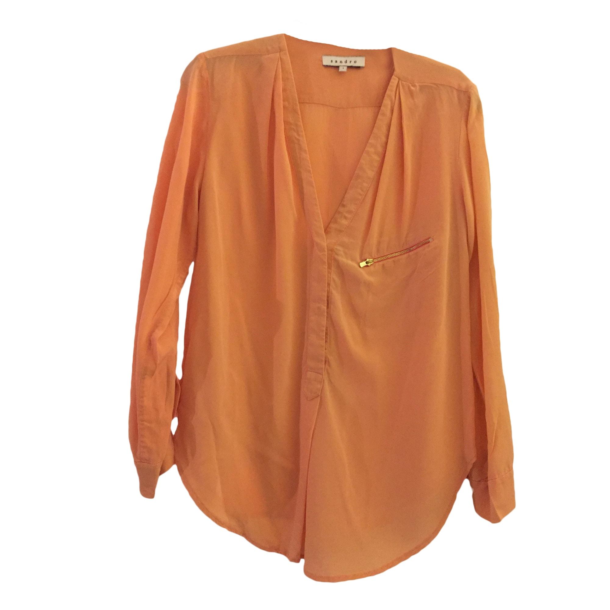 Blouse SANDRO Orange
