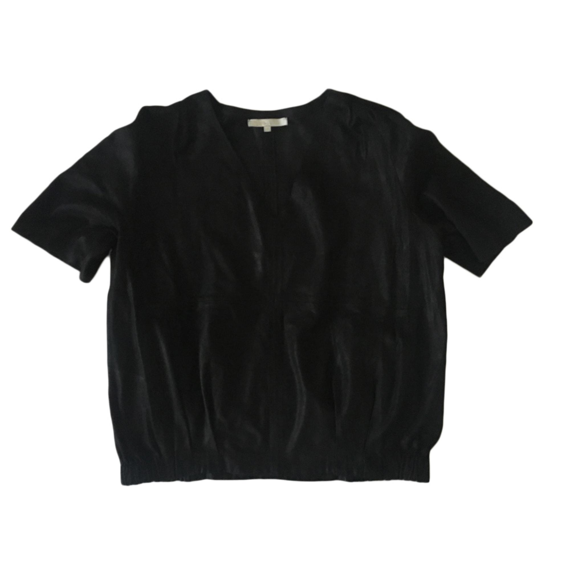 Top, tee-shirt MAJE Noir