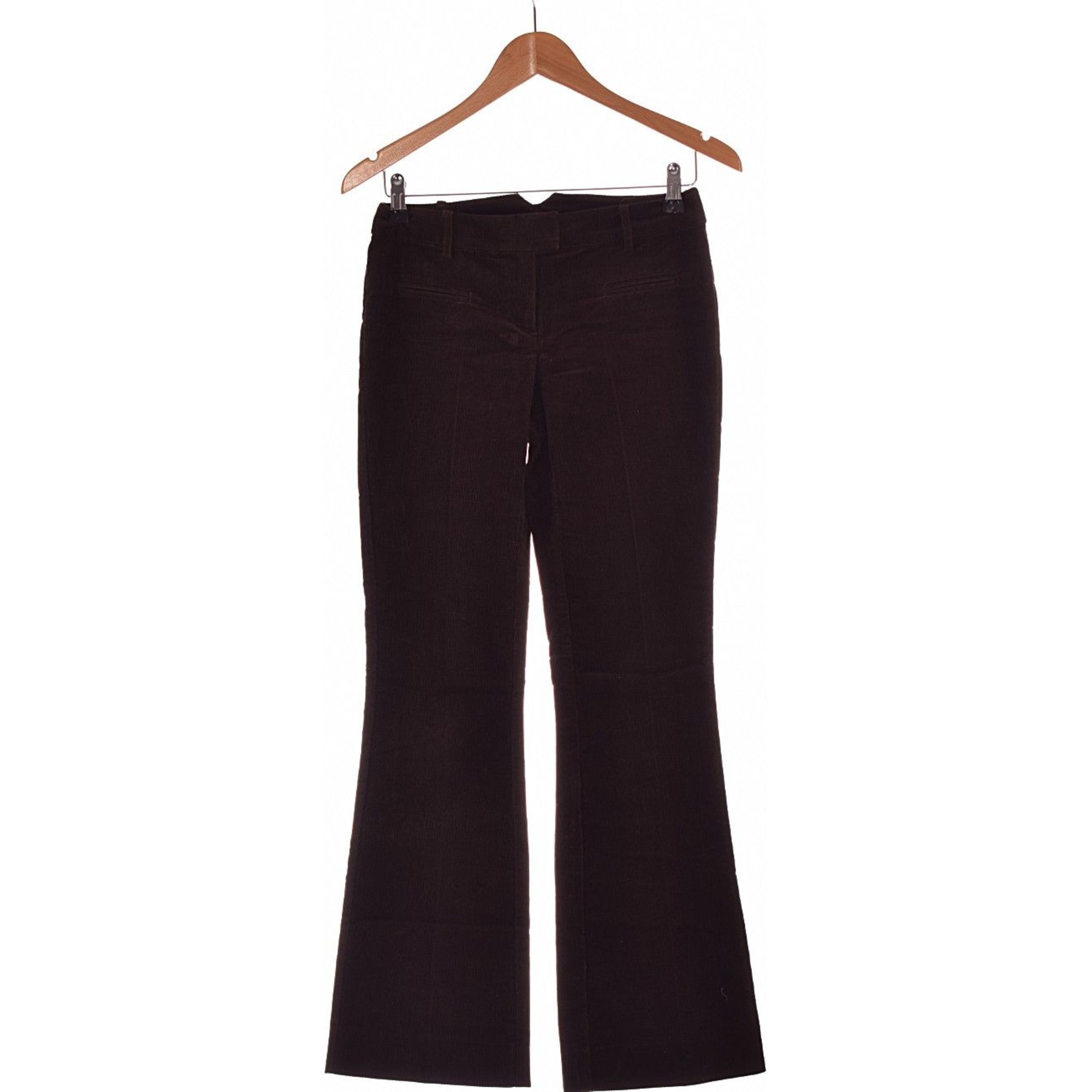 Pantalon évasé NAF NAF Marron