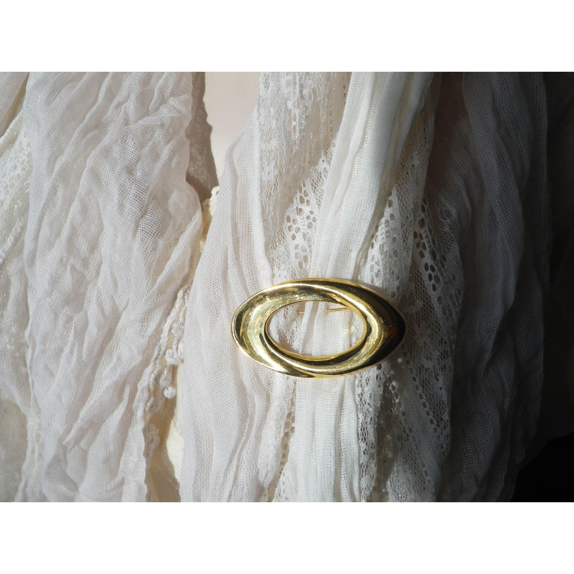 Broche NAPIER métal doré