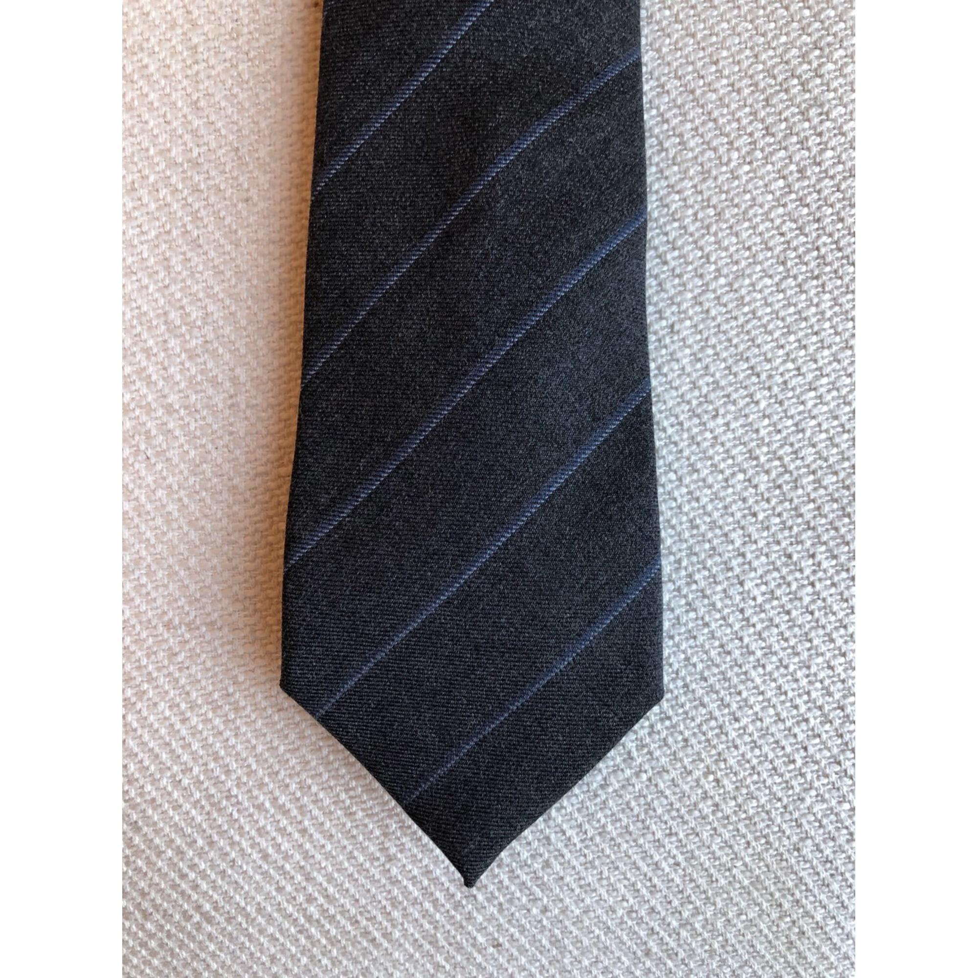 Cravate T.M LEWIN Gris, anthracite