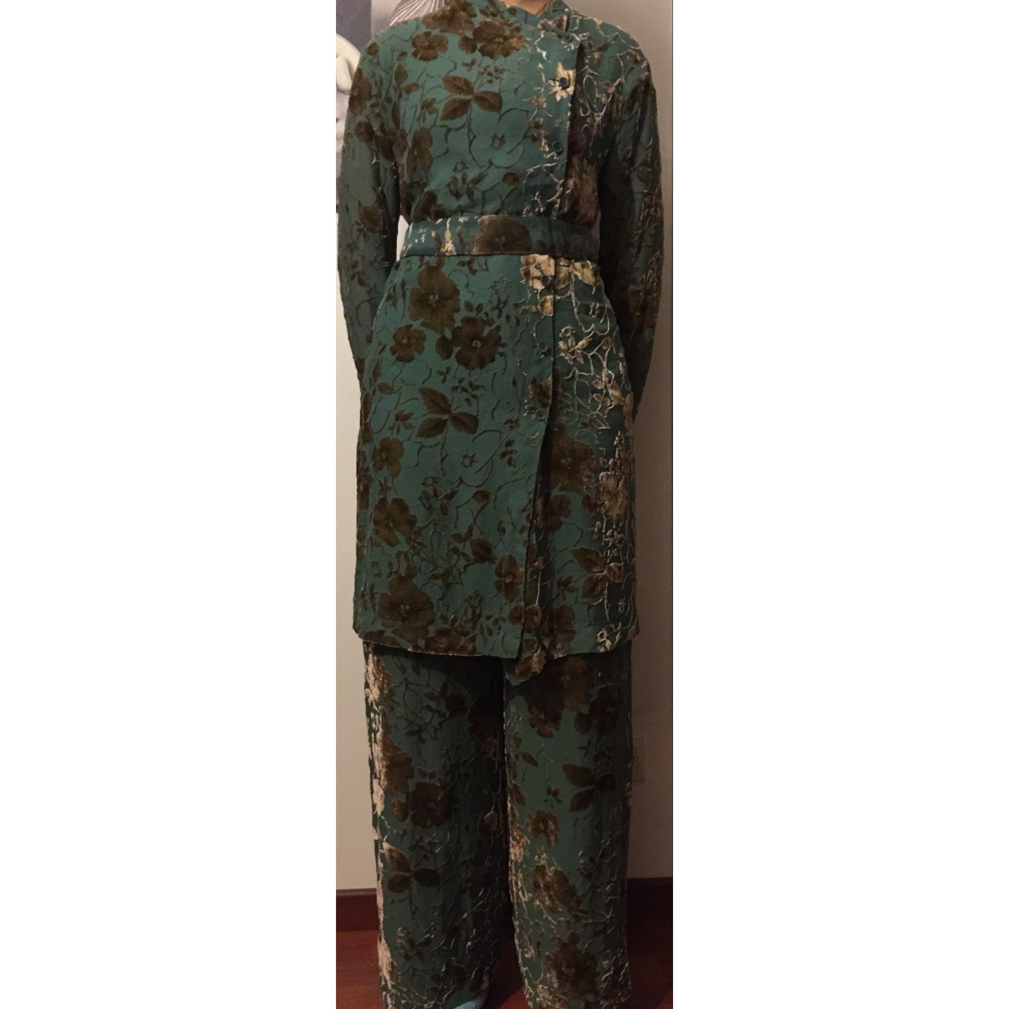 Tailleur pantalon EMPORIO ARMANI Kaki