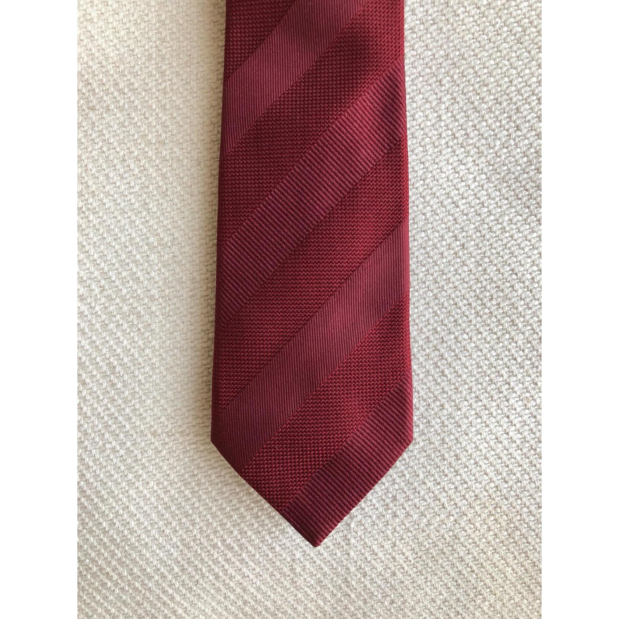 Cravate PAUL SMITH Rouge, bordeaux